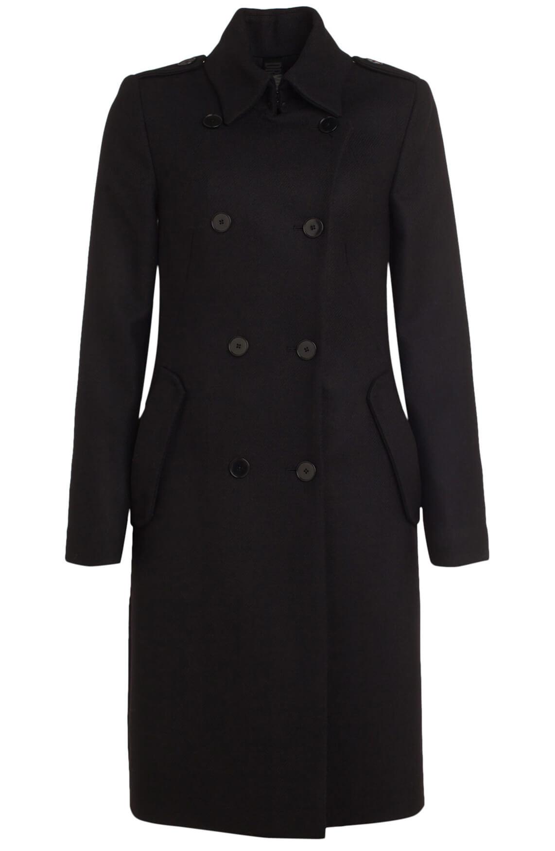 Drykorn Dames Buckey chique mantel zwart