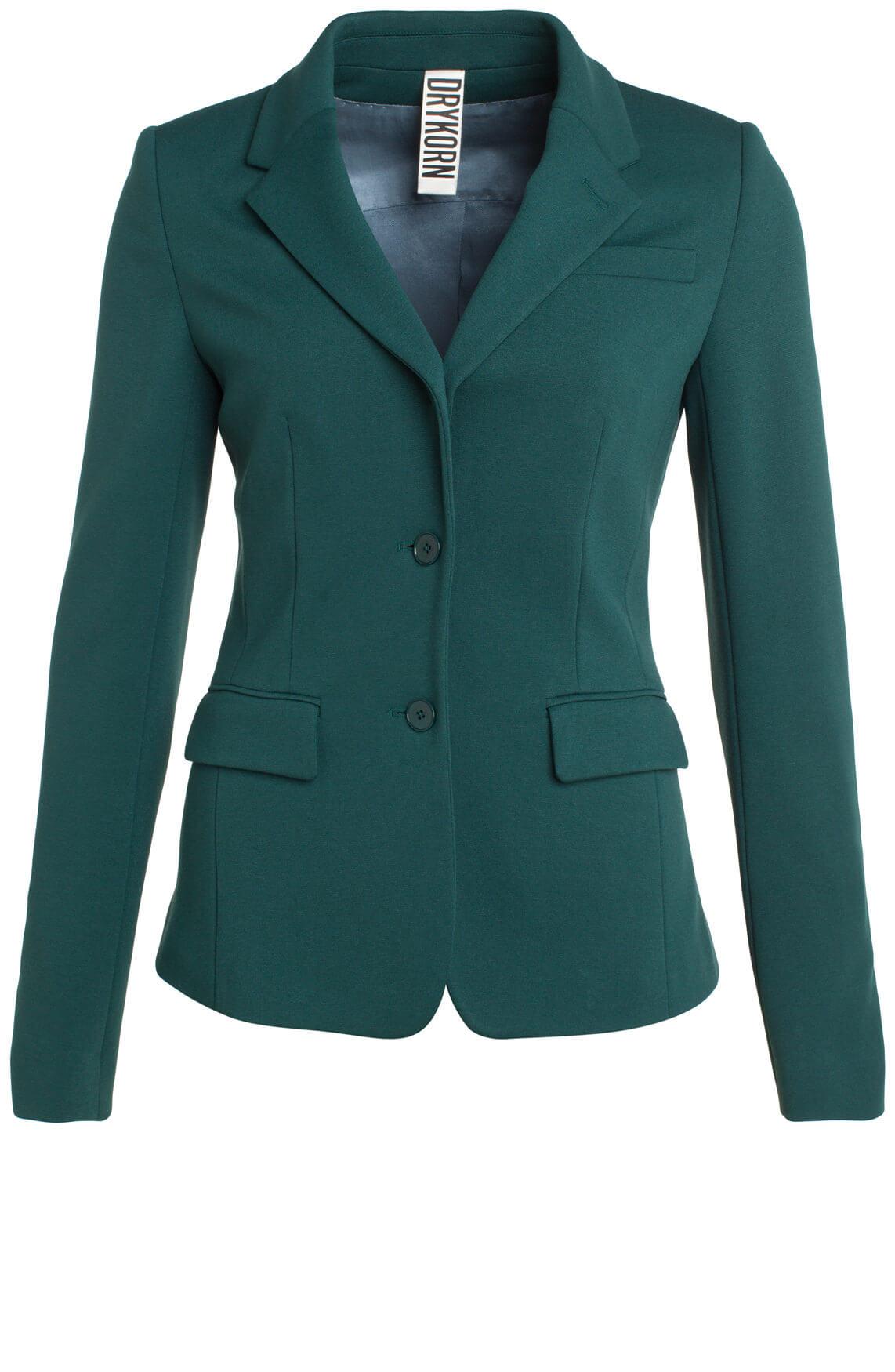 Drykorn Dames Boulder blazer groen