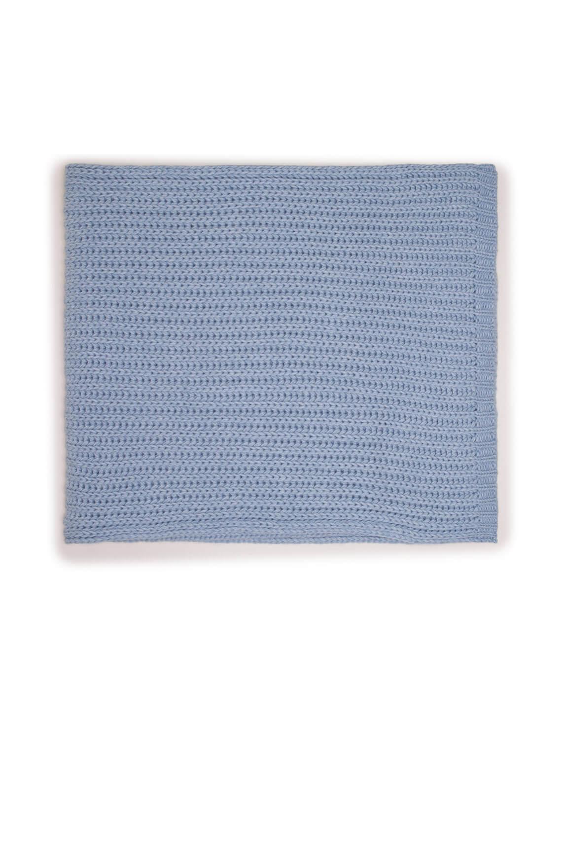 Drykorn Dames Cronica gebreide shawl Blauw