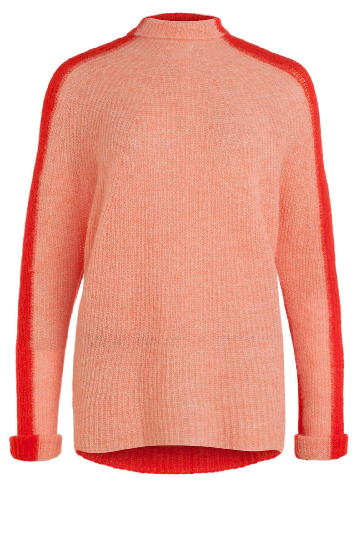 Drykorn Dames Lyza fijngebreide pullover roze