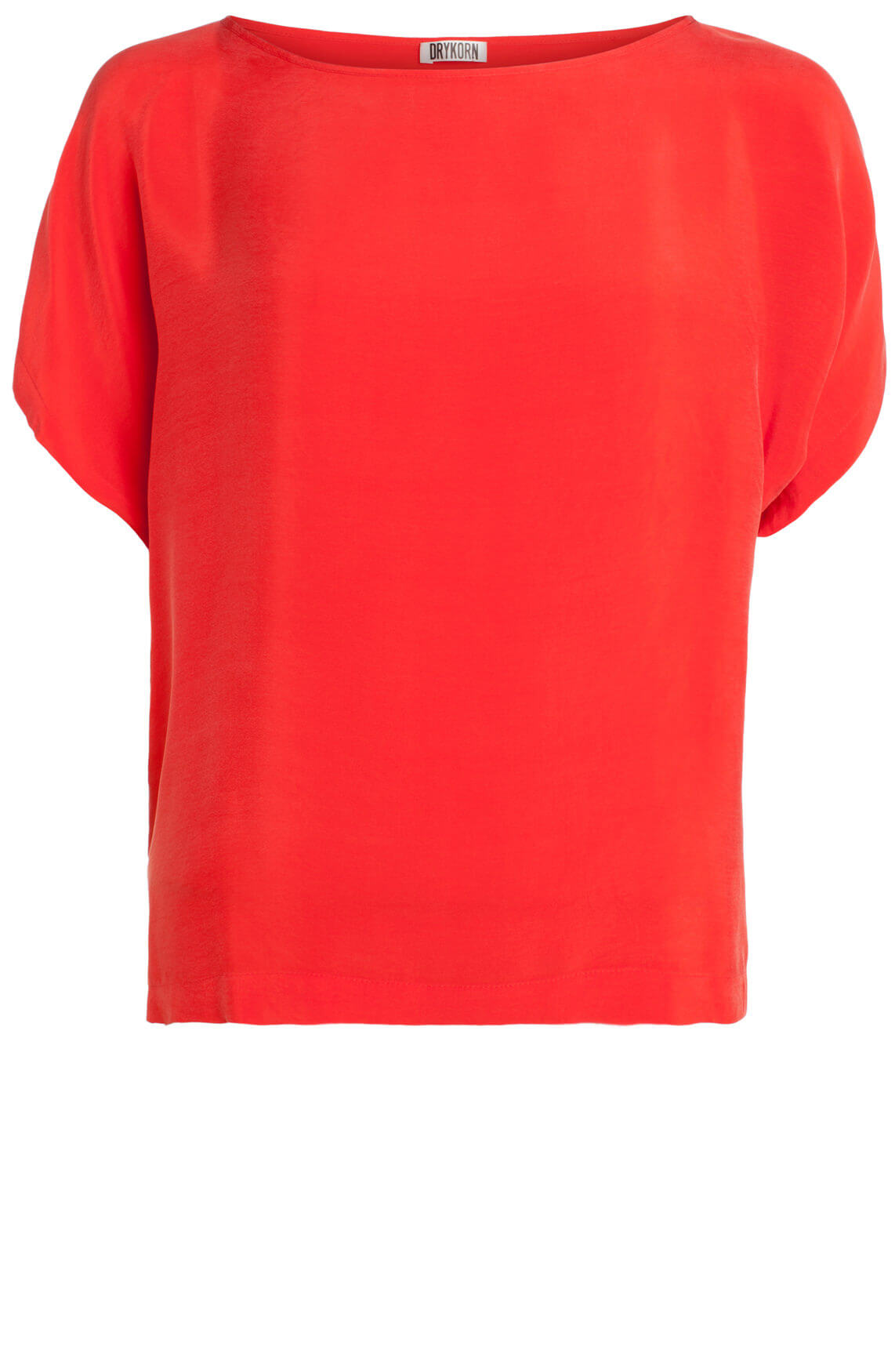 Drykorn Dames Somia chique blouse rood Rood