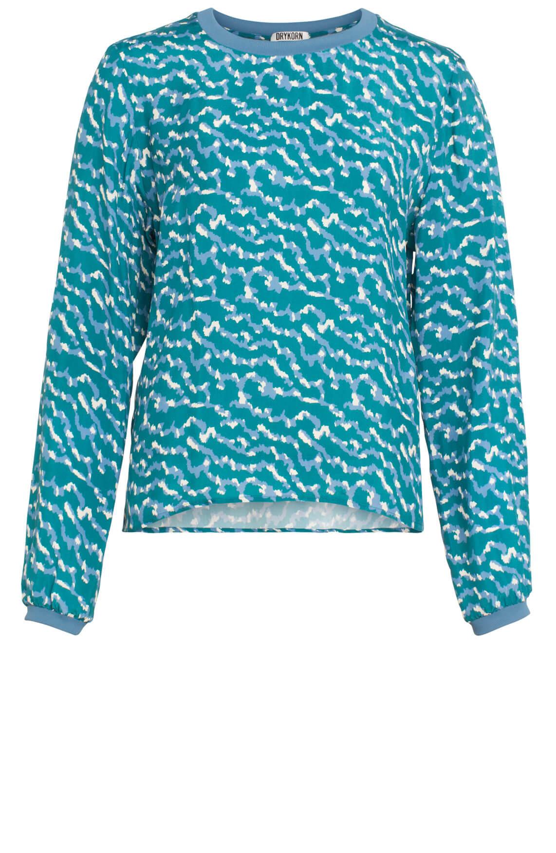 Drykorn Dames Debra blouse groen