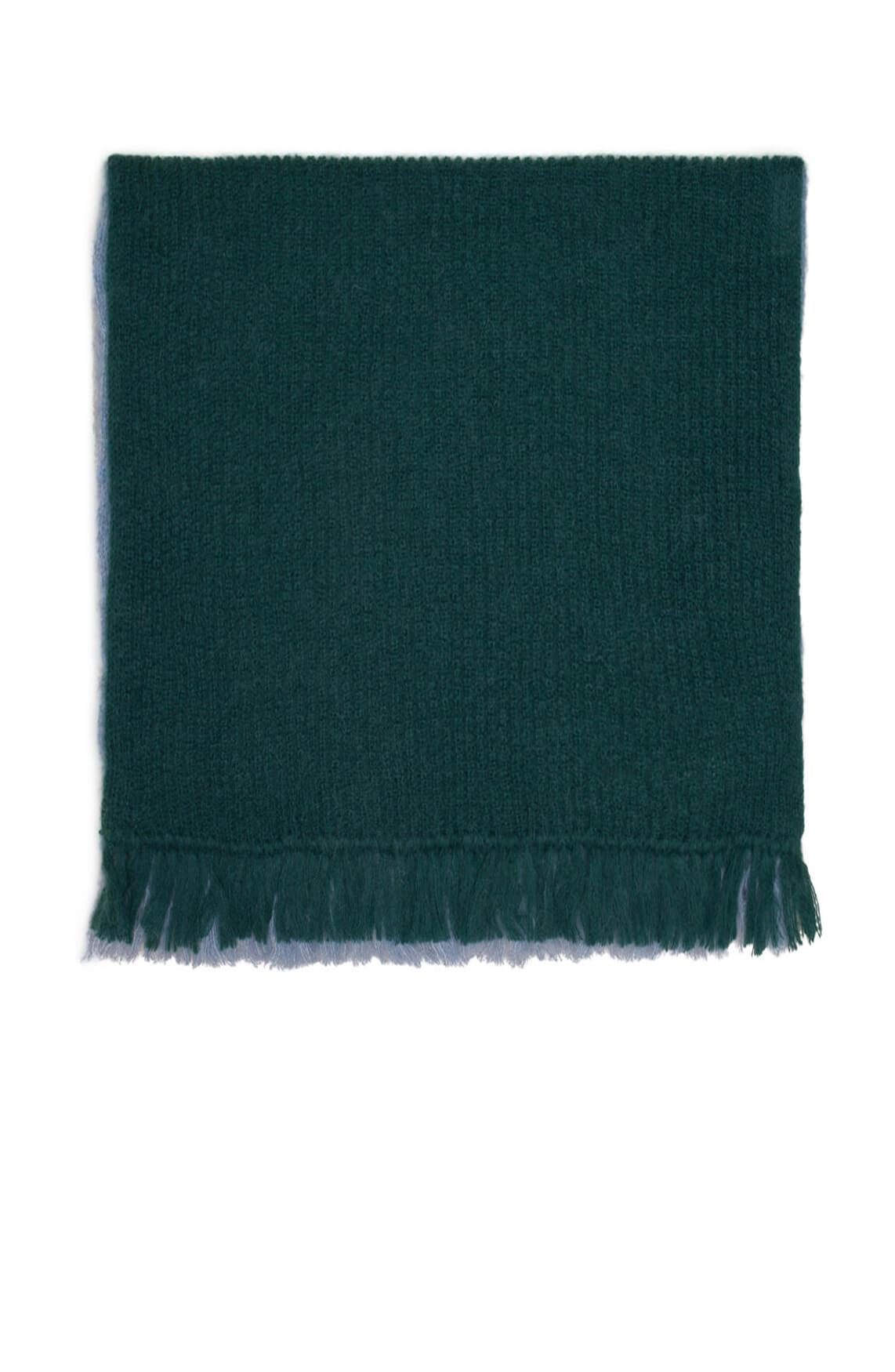 Drykorn Dames Dub gebreide shawl groen
