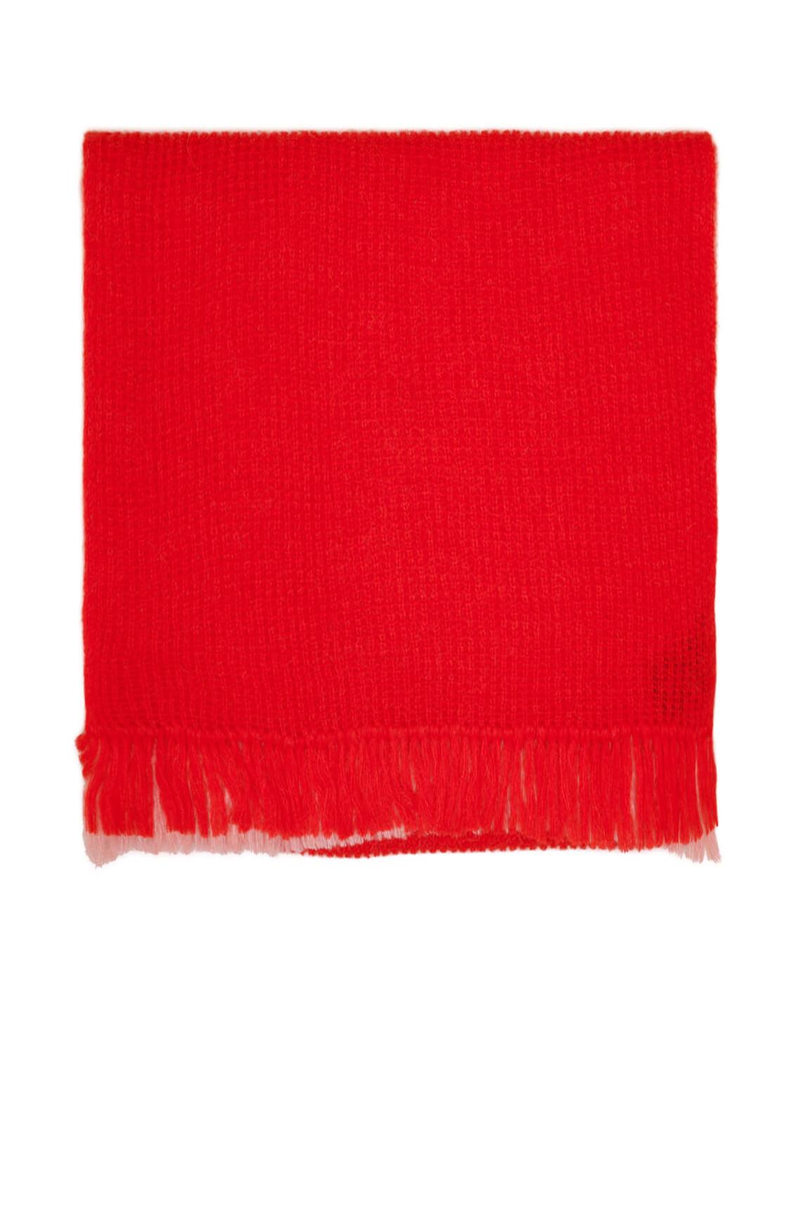 Drykorn Dames Dub gebreide shawl Rood