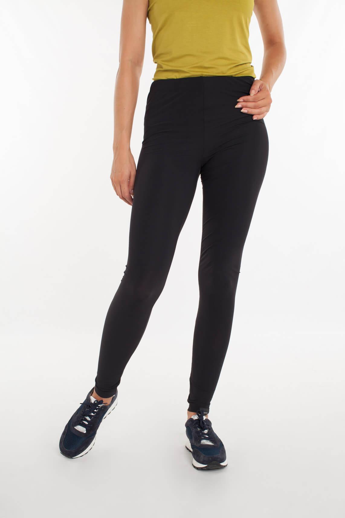Penn & Ink Dames Comfortabele legging zwart