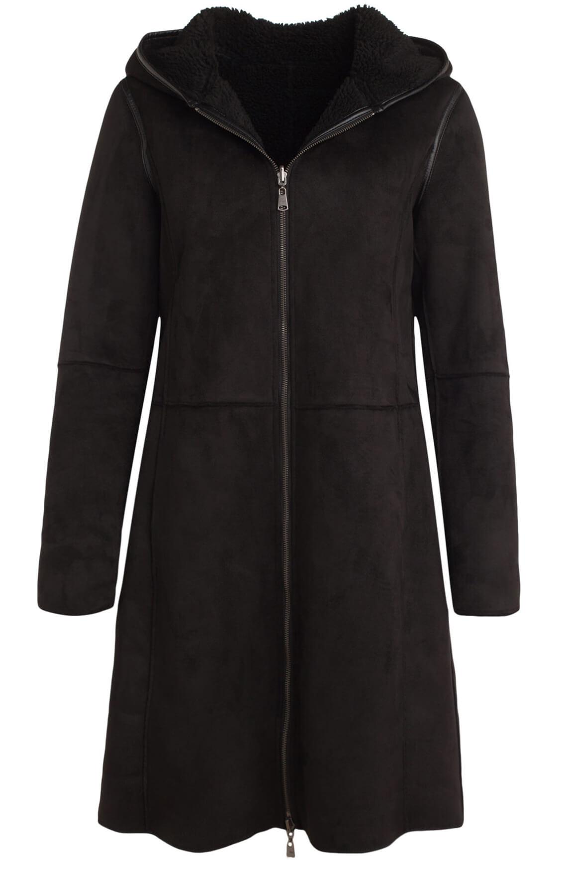 Beaumont Dames Reversible lammy jas zwart