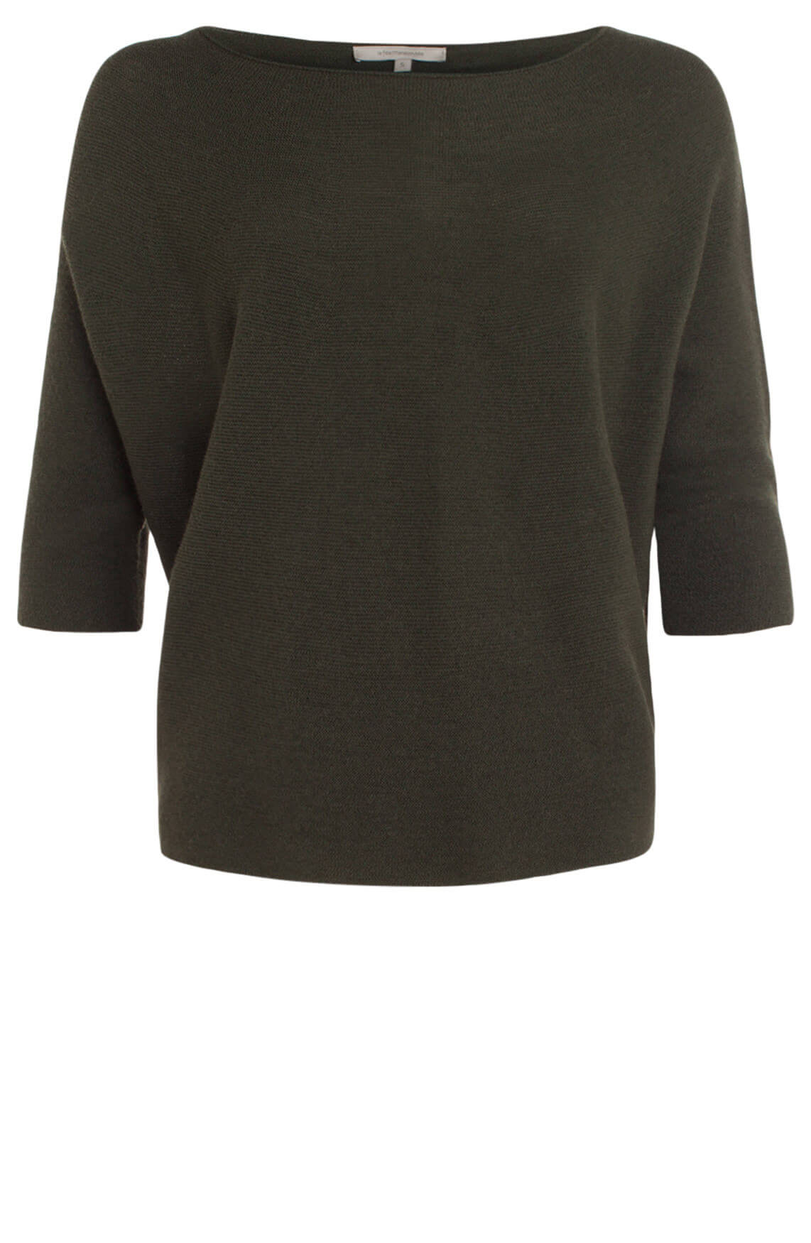 La Fée Maraboutée Dames Ribgebreide pullover groen