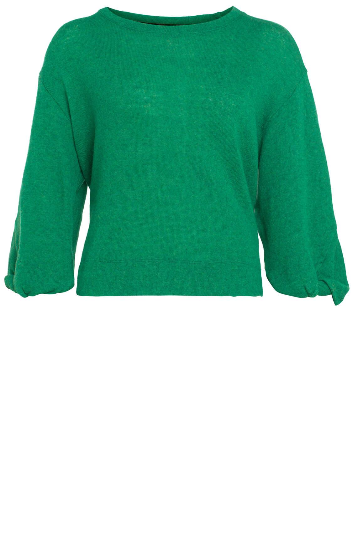 La Fée Maraboutée Dames Fijngebreide pullover groen groen