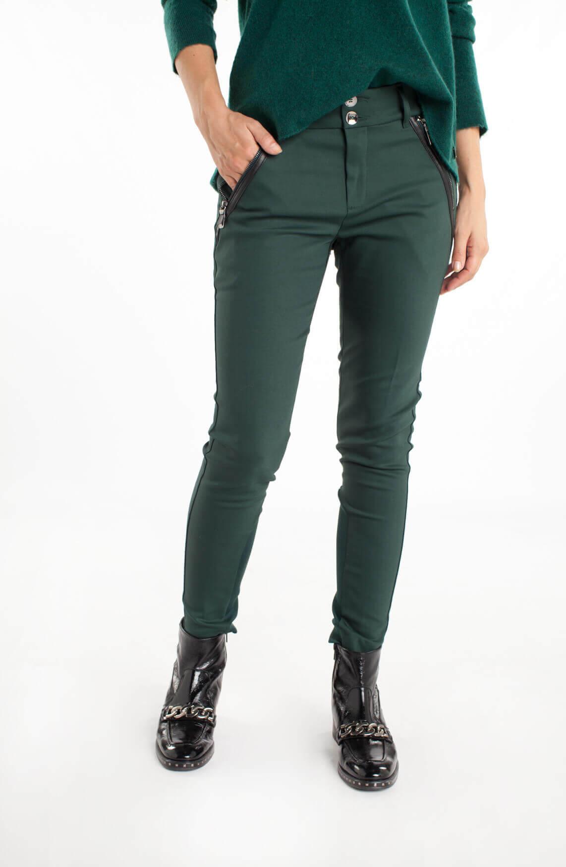 Mos Mosh Dames Milton pantalon groen