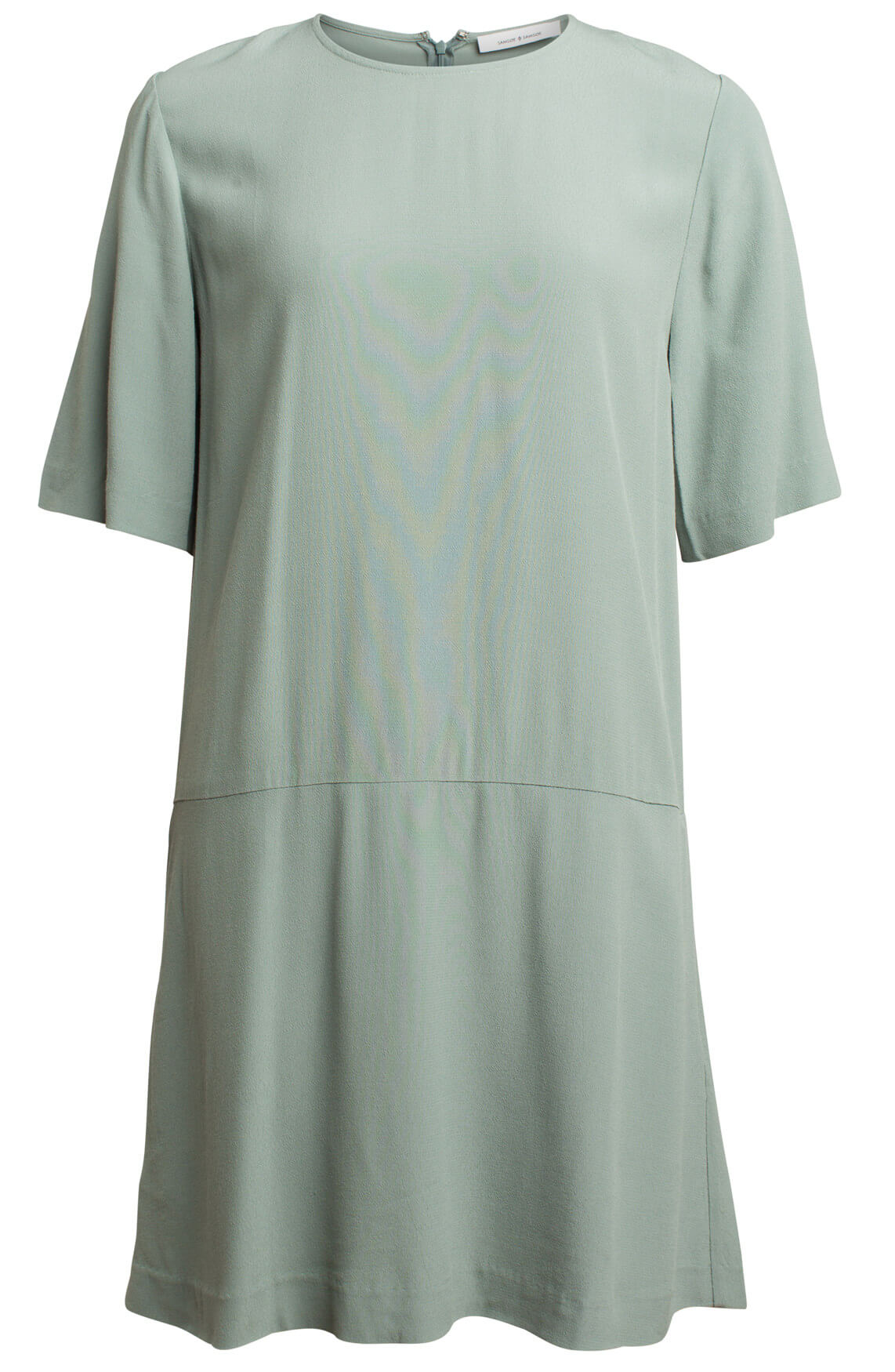 Samsoe Samsoe Dames Adelaide jurk groen