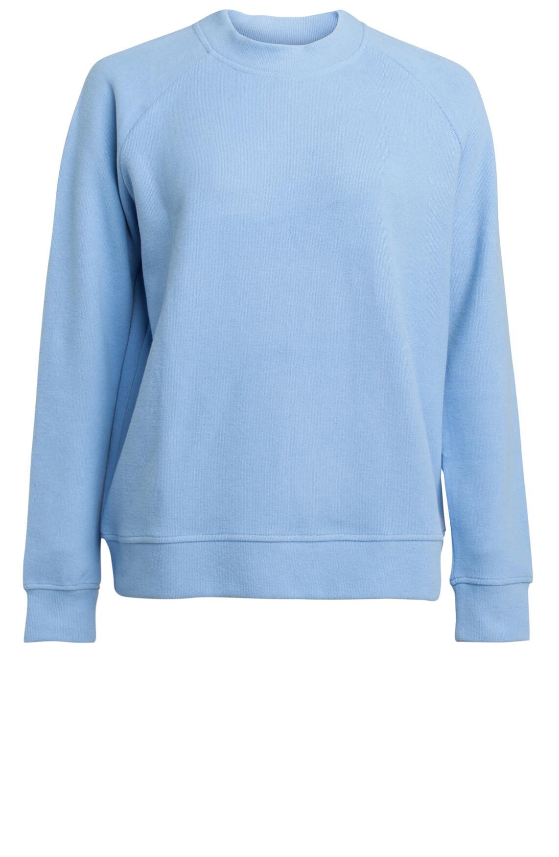 Samsoe Samsoe Dames Apo O-neck sweater Blauw
