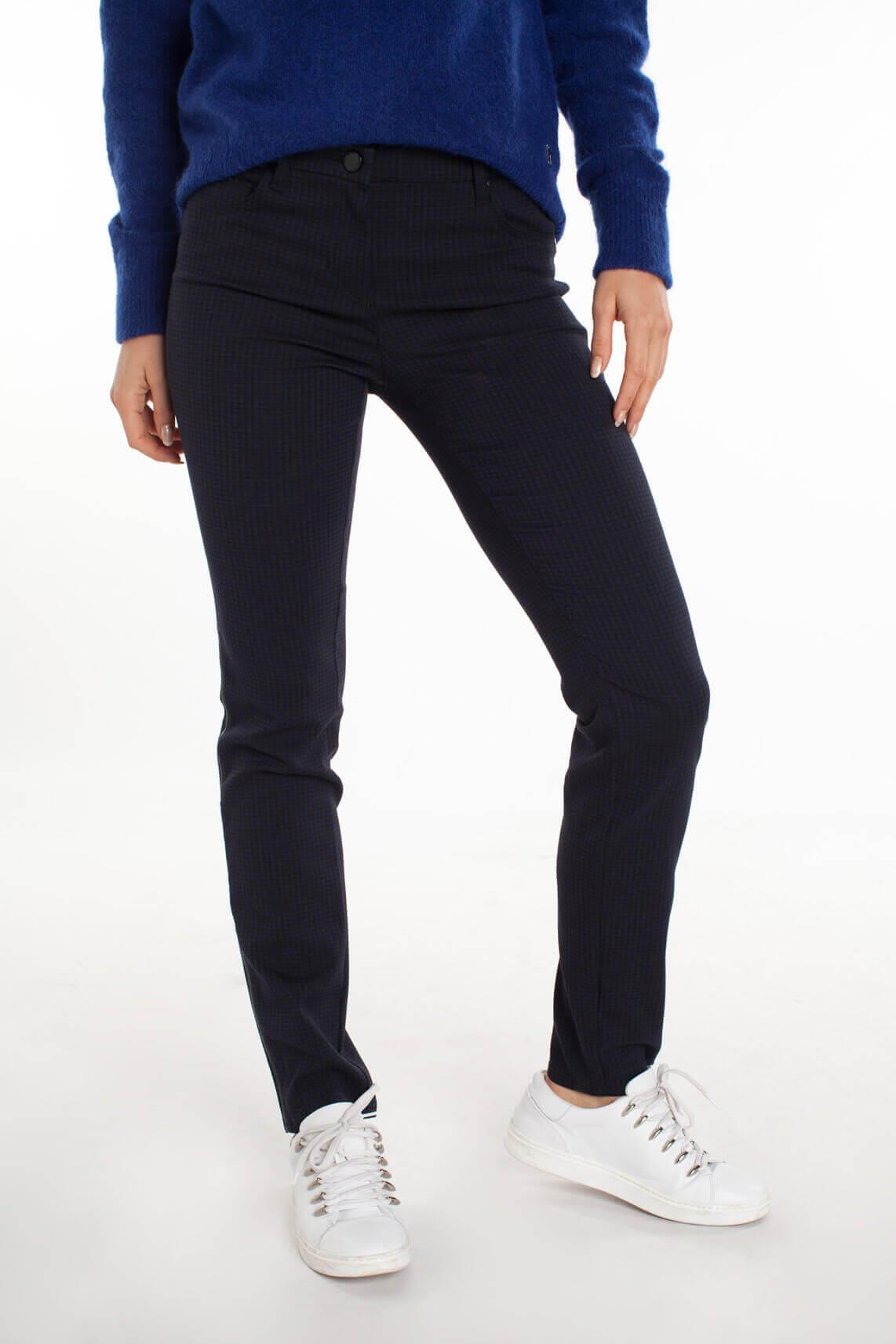 Rosner Dames Antonia broek met print Blauw