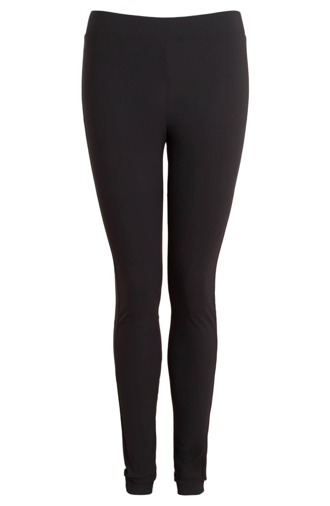 Jane Lushka Dames Comfortabele legging zwart