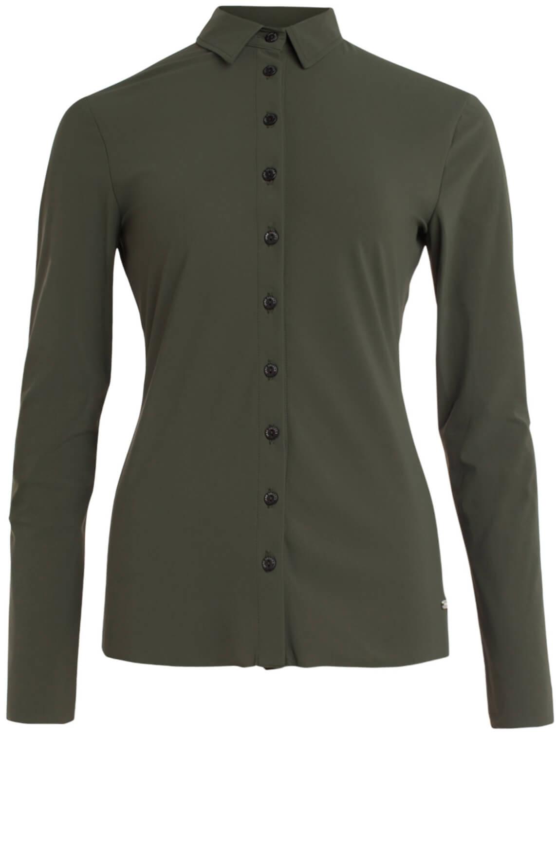 Jane Lushka Dames Jersey blouse