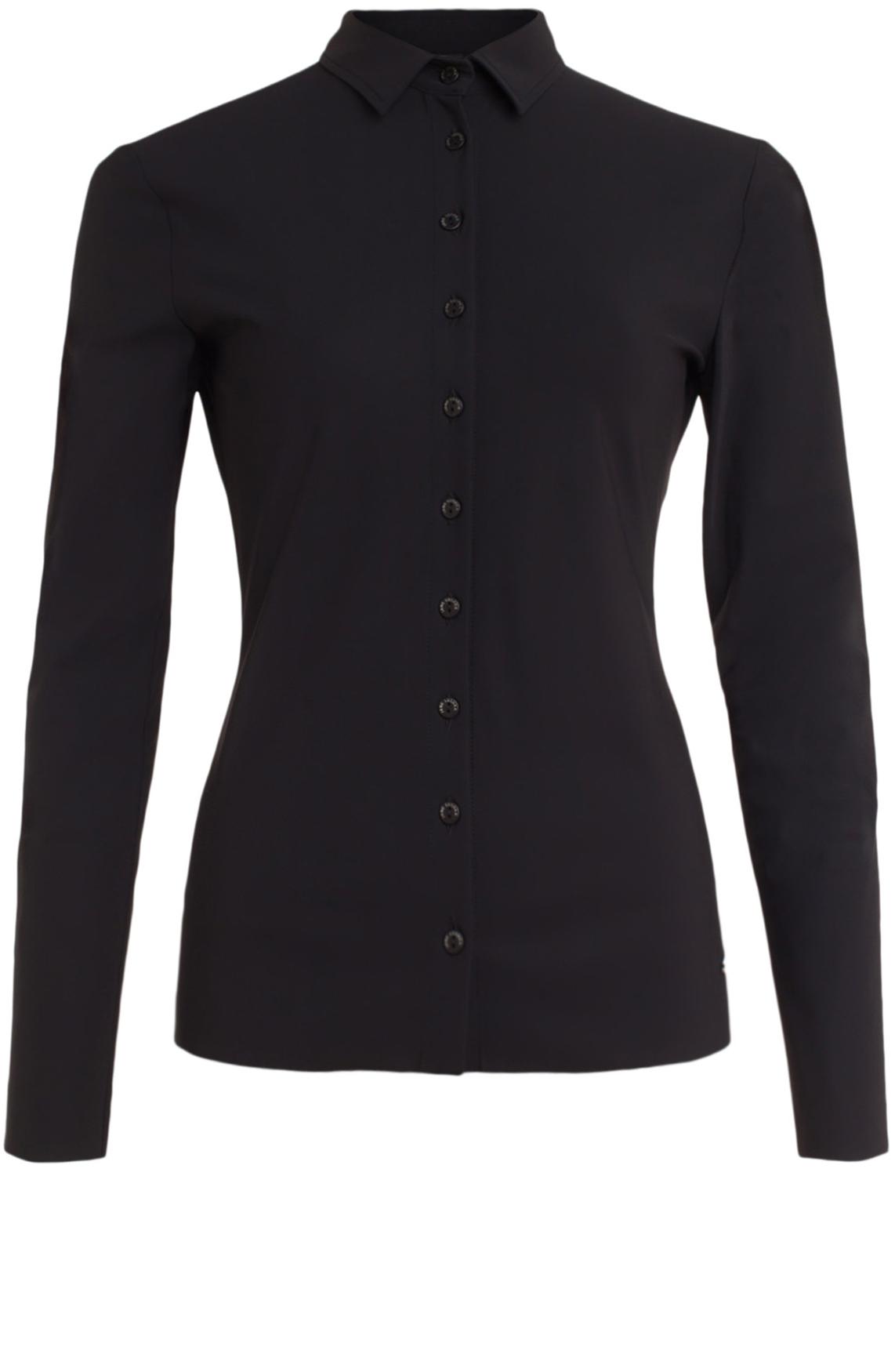 Jane Lushka Dames Jersey blouse zwart