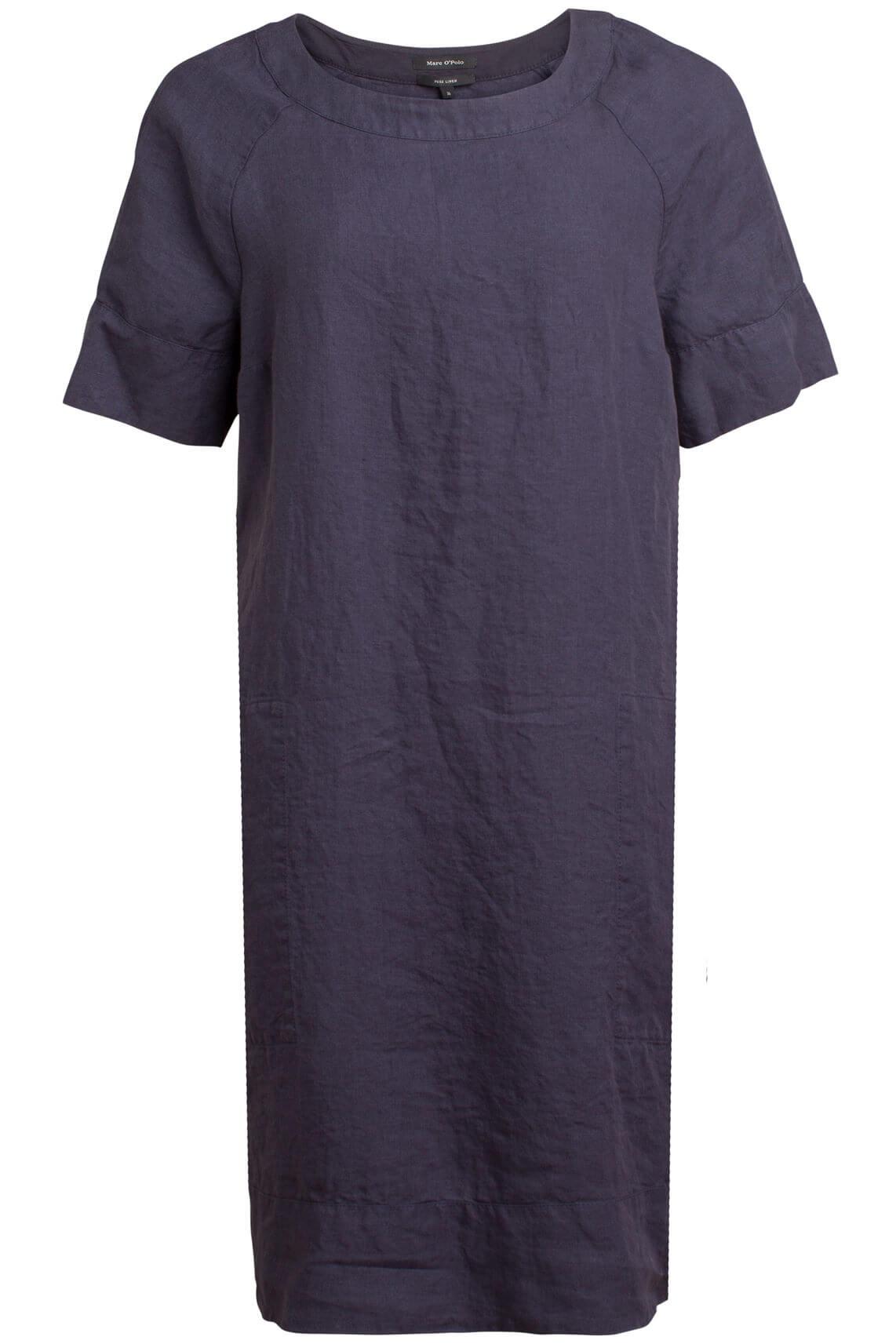 Marc O'Polo Dames Linnen jurk Blauw
