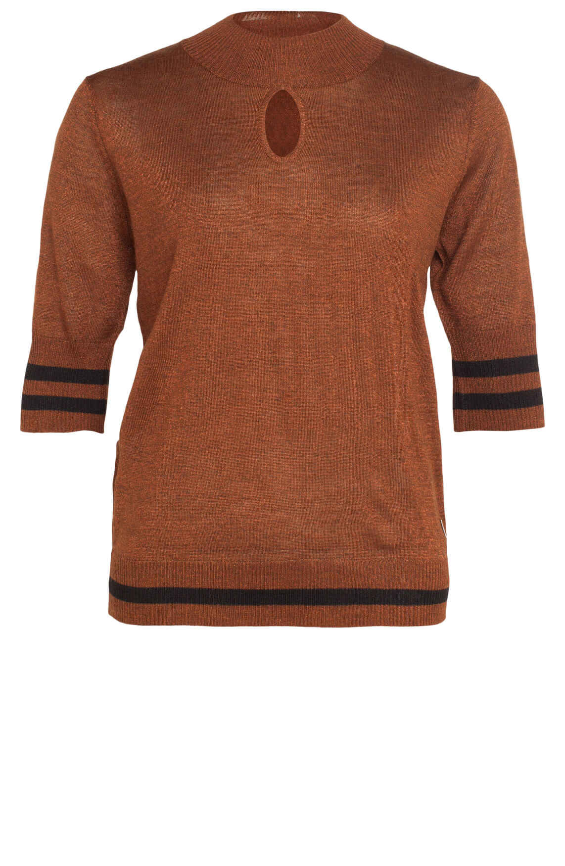 Anna Dames Sportieve pullover Bruin