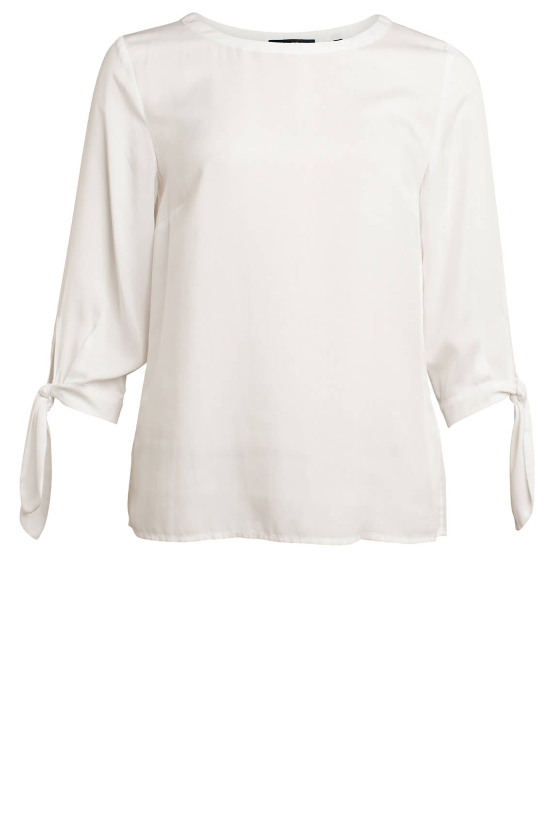 Marc O'Polo Dames Blouse met knoopdetail wit