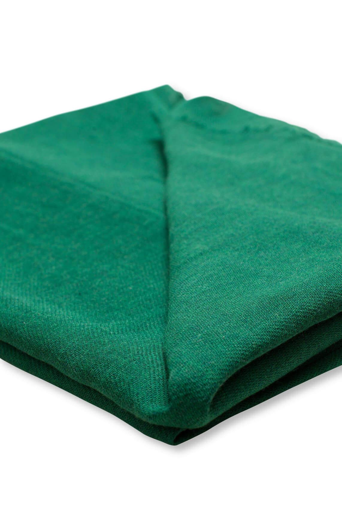 Marc O'Polo Dames Katoenen shawl groen