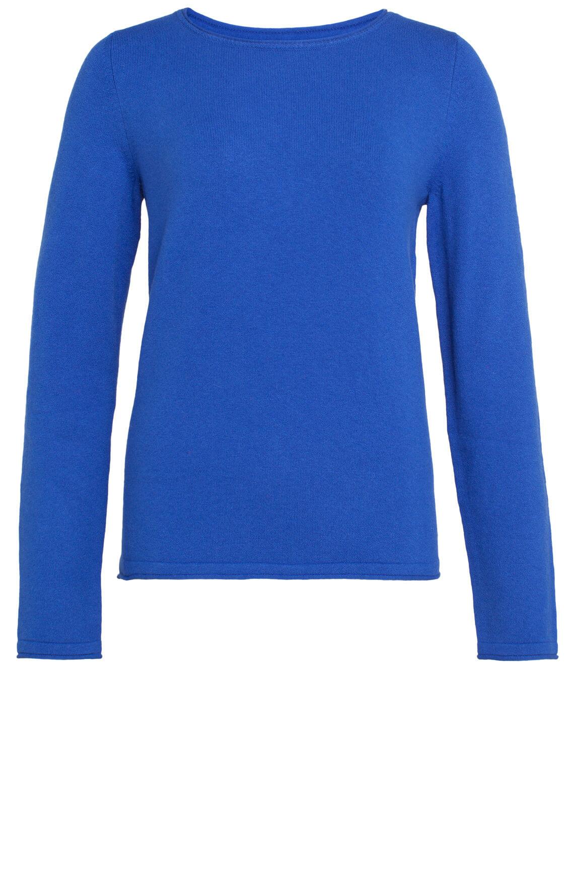 Marc O'Polo Dames Pullover cobalt Blauw