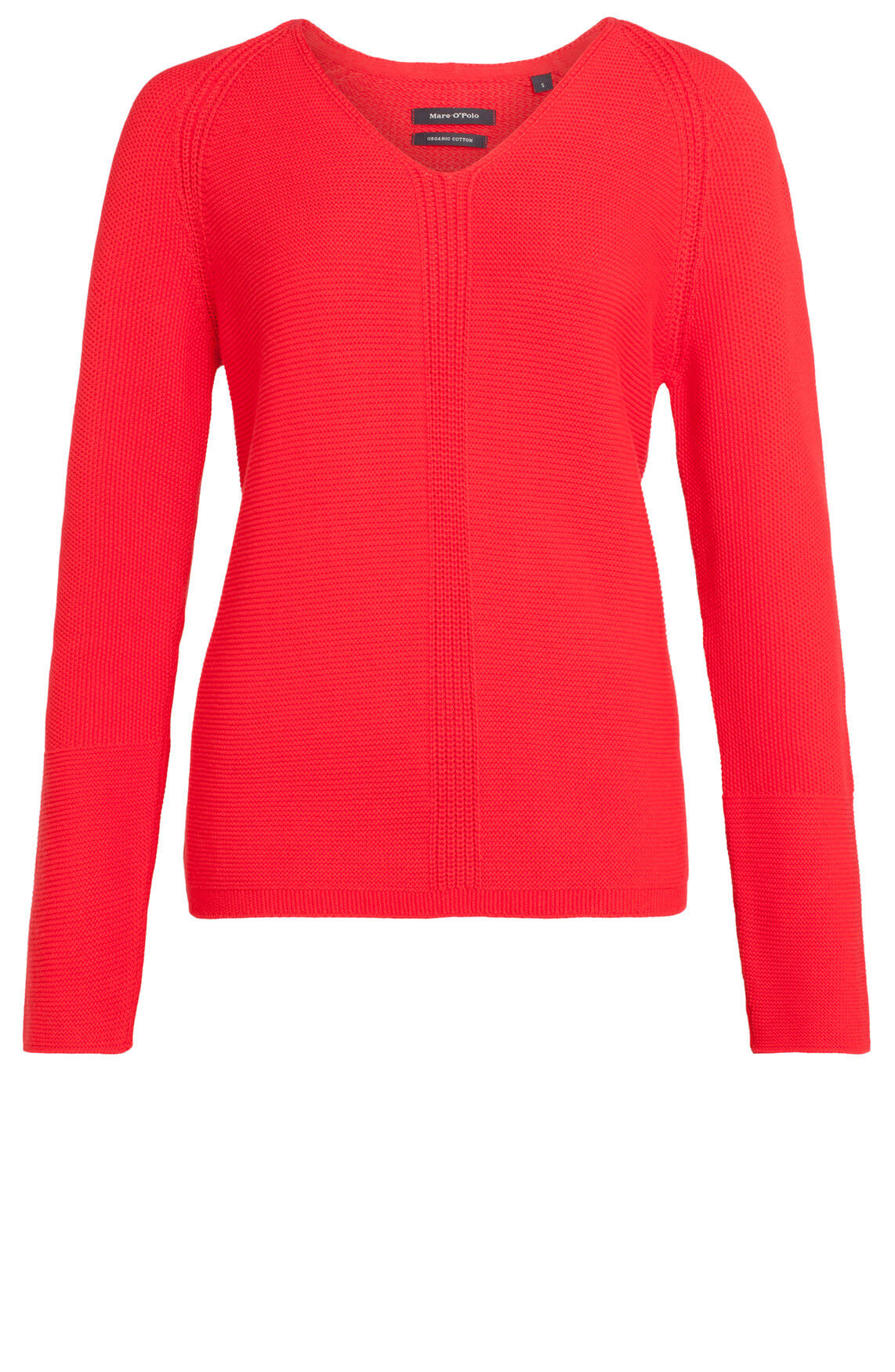 Marc O'Polo Dames Gehaakte pullover Rood