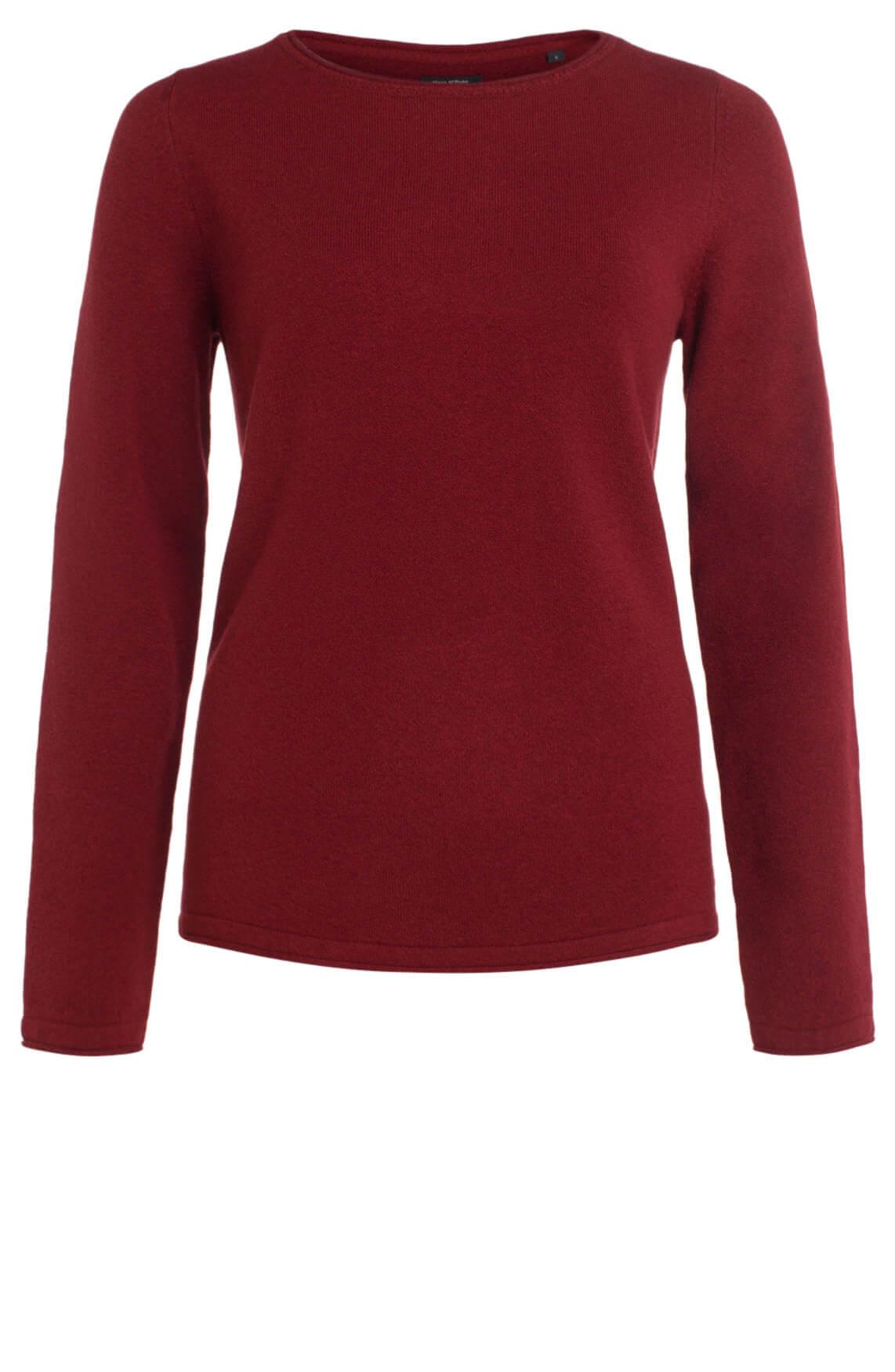 Marc O'Polo Dames Fijngebreide pullover Rood