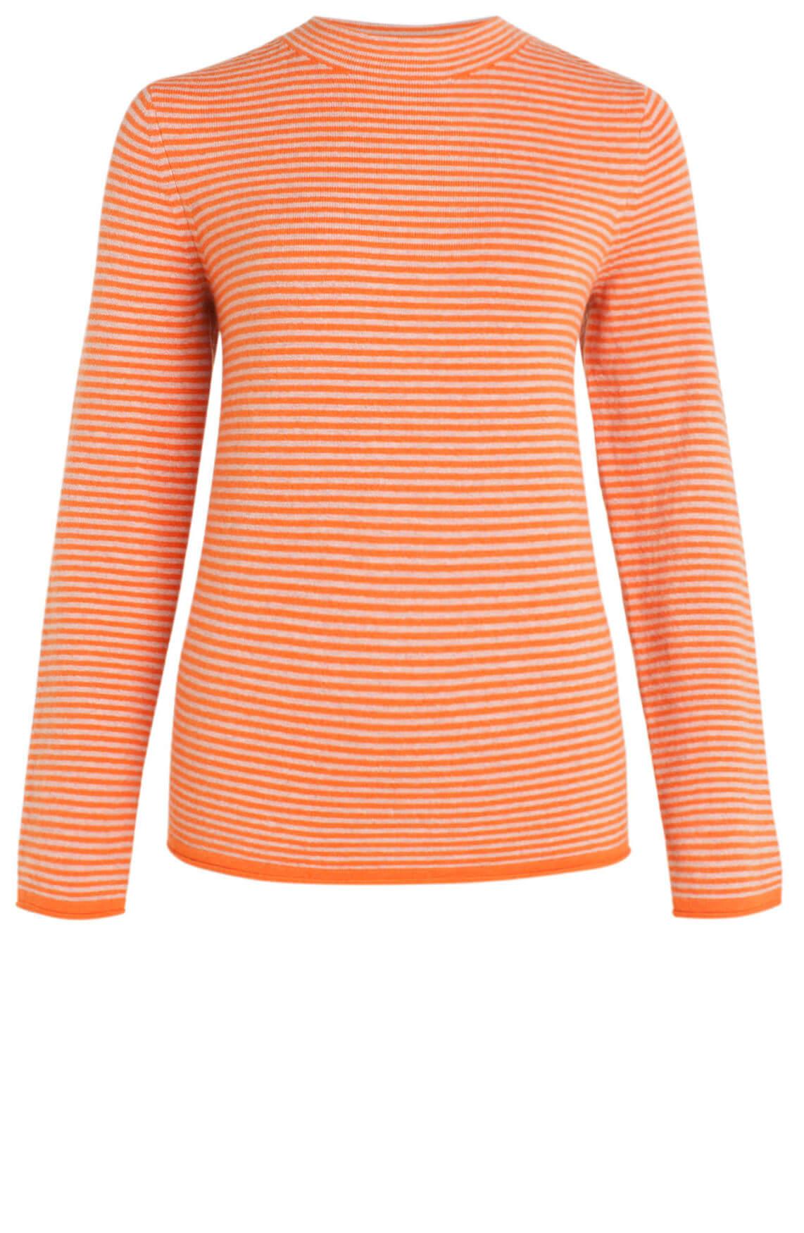 Marc O'Polo Dames Gestreepte pullover Oranje