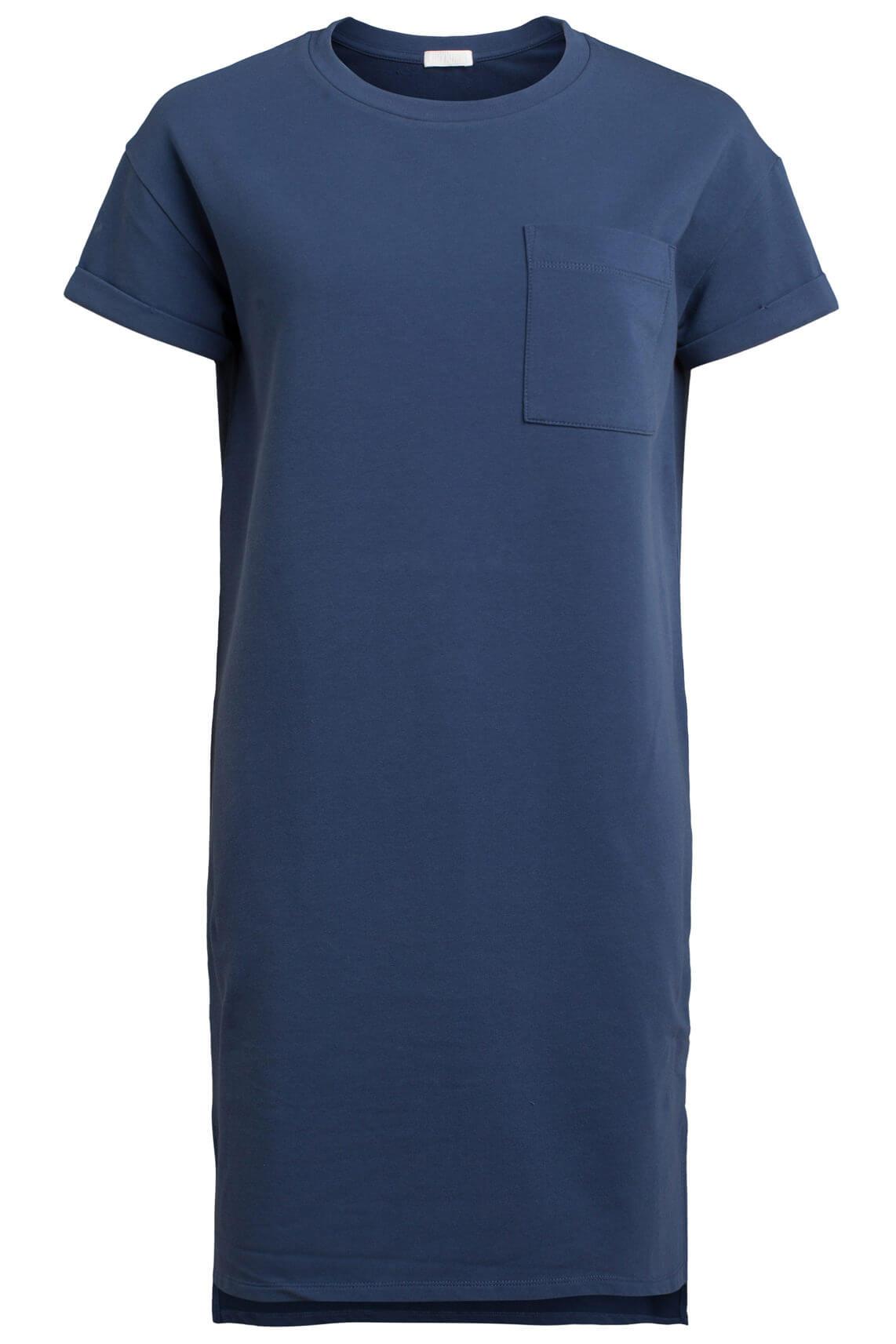 Drykorn Dames Yelle blauwe jurk Blauw