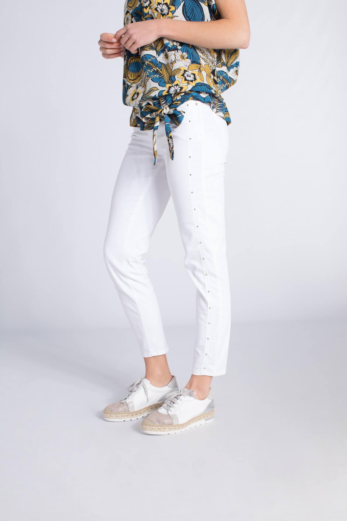 Rosner Dames Antonia broek met studs wit