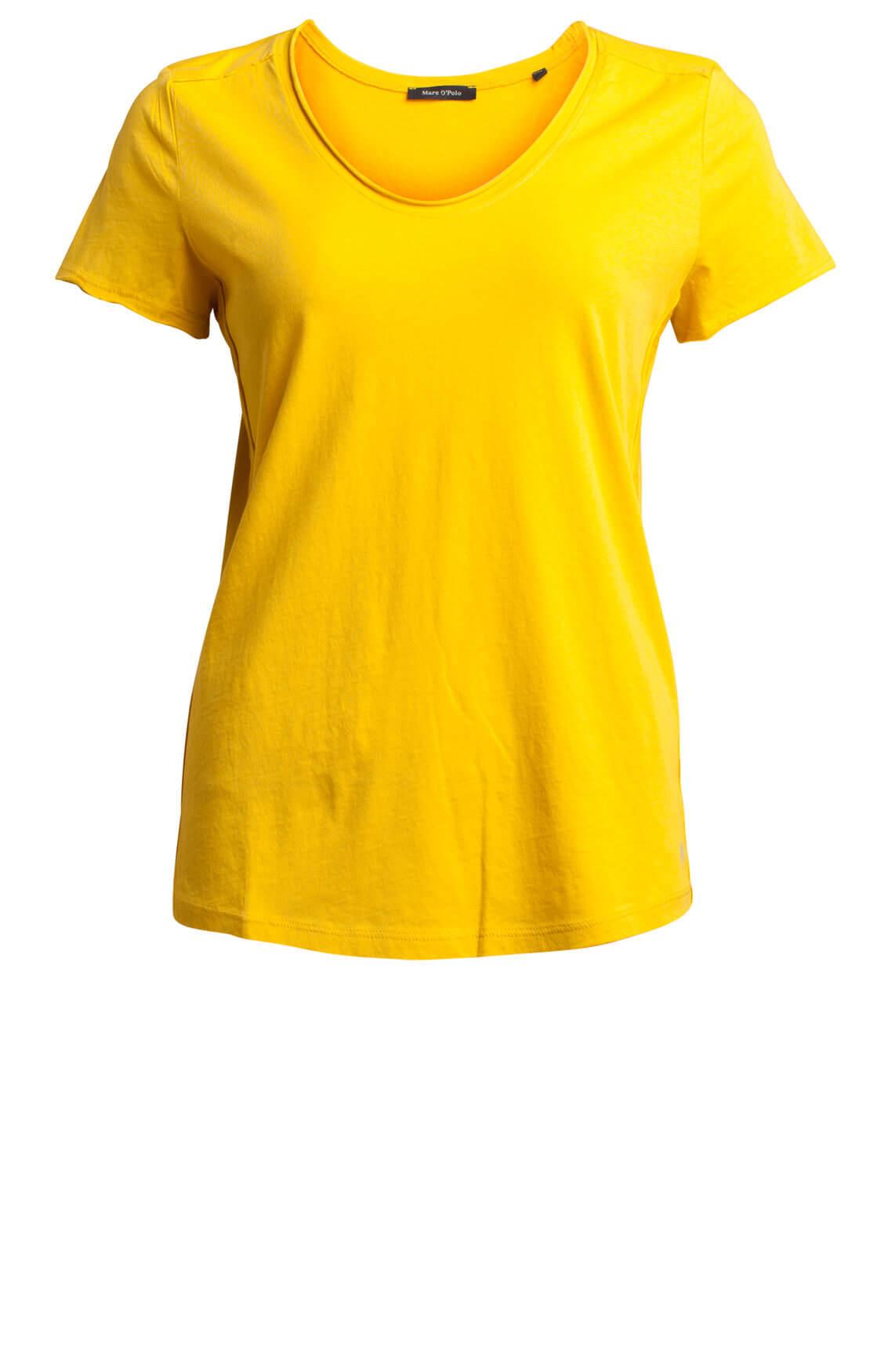 Marc O'Polo Dames Shirt met v-hals geel