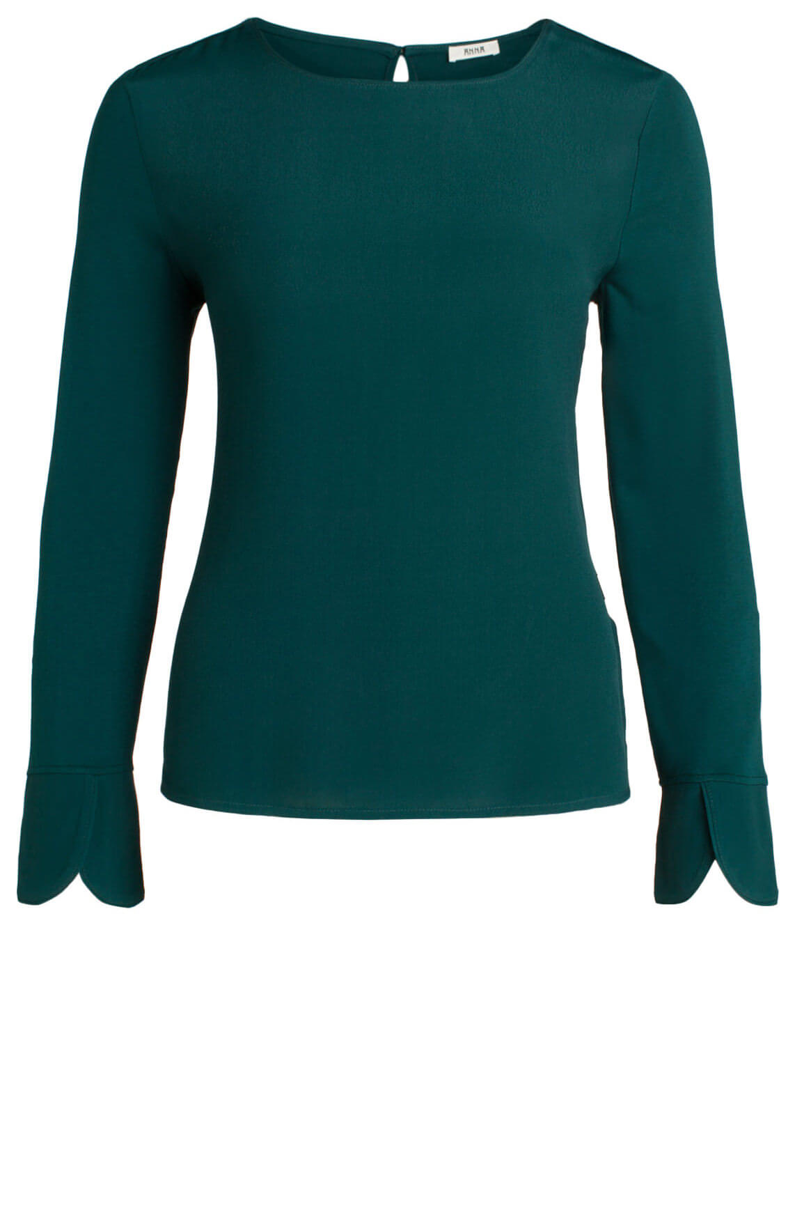 Anna Dames Elegante blouse groen