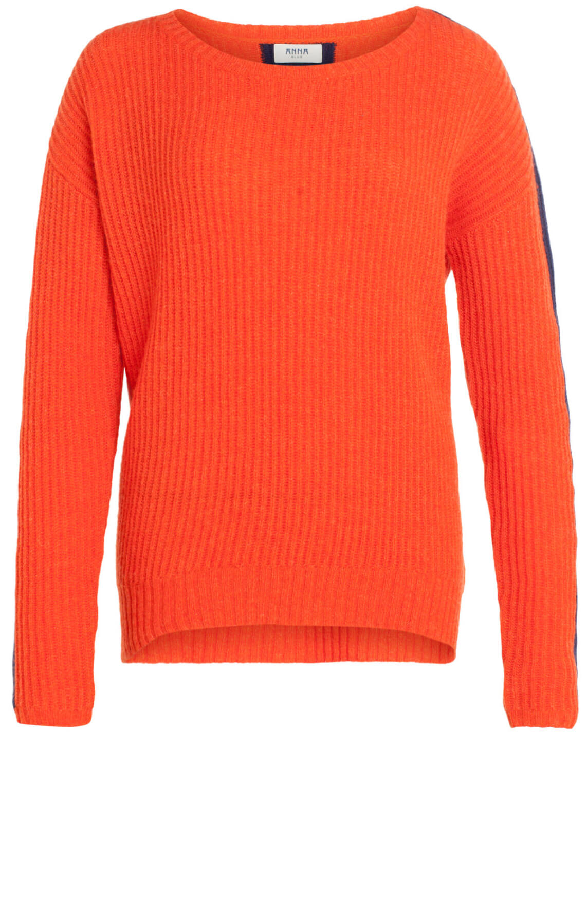 Anna Blue Dames Gebreide pullover Oranje