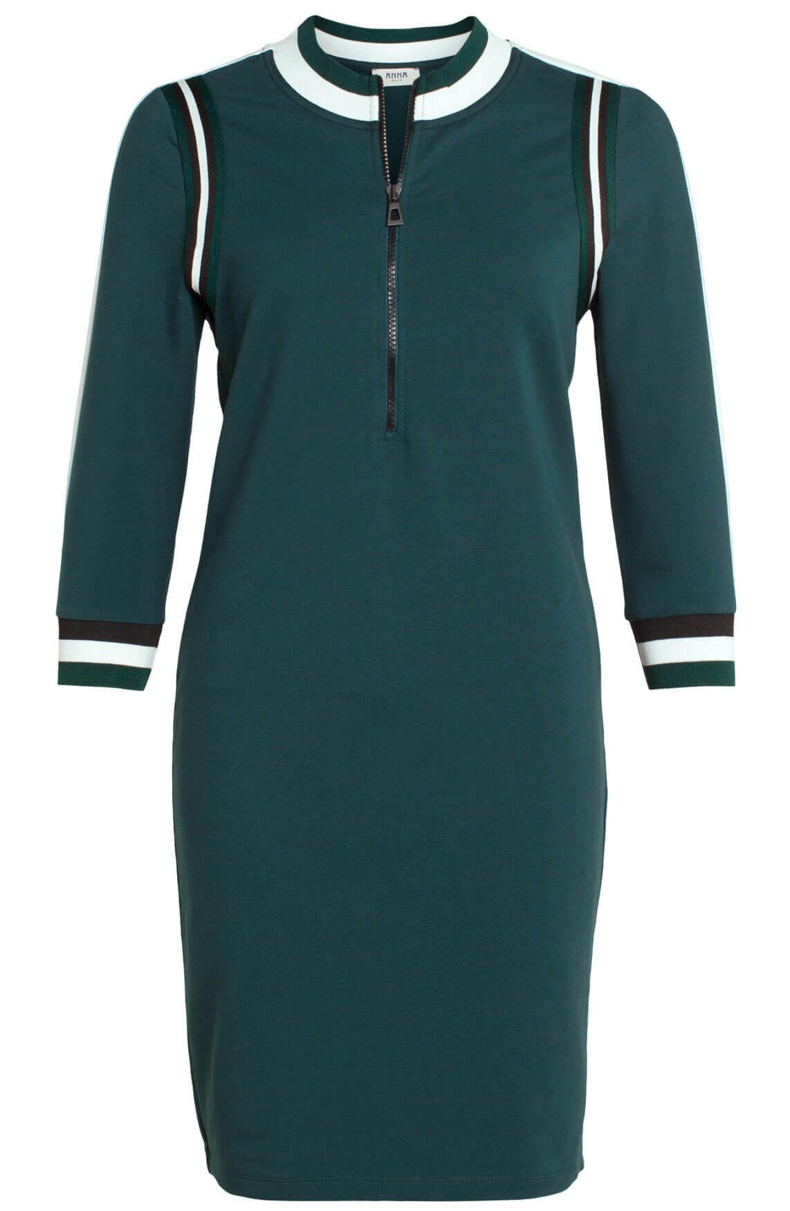Anna Blue Dames Sportieve jurk groen