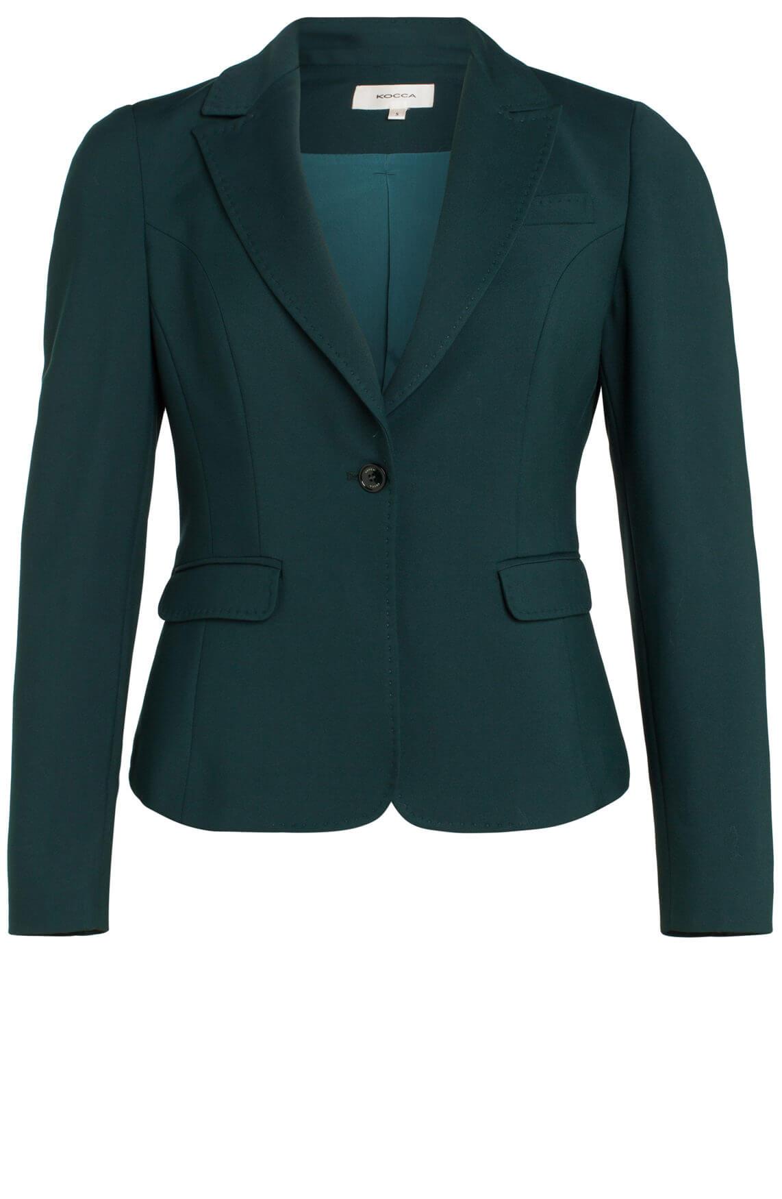 Kocca Dames Rac blazer groen