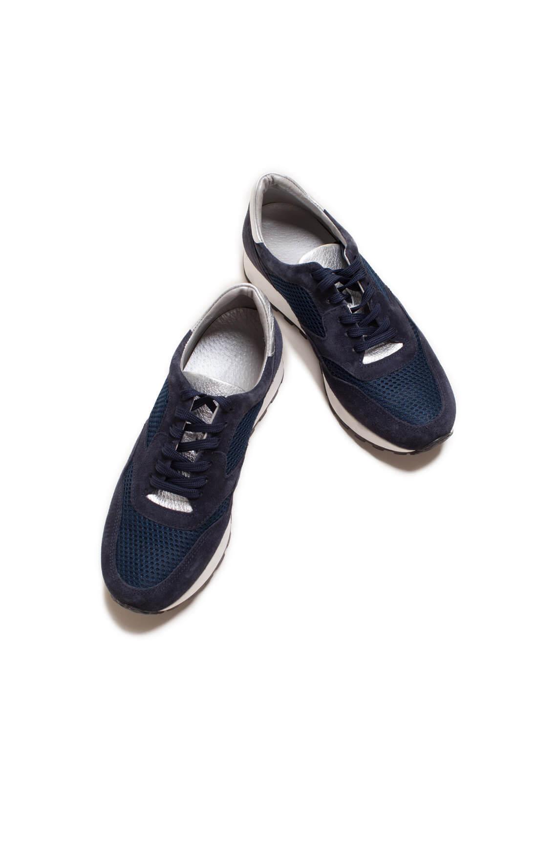 Hip Dames Sneaker met mesh Blauw