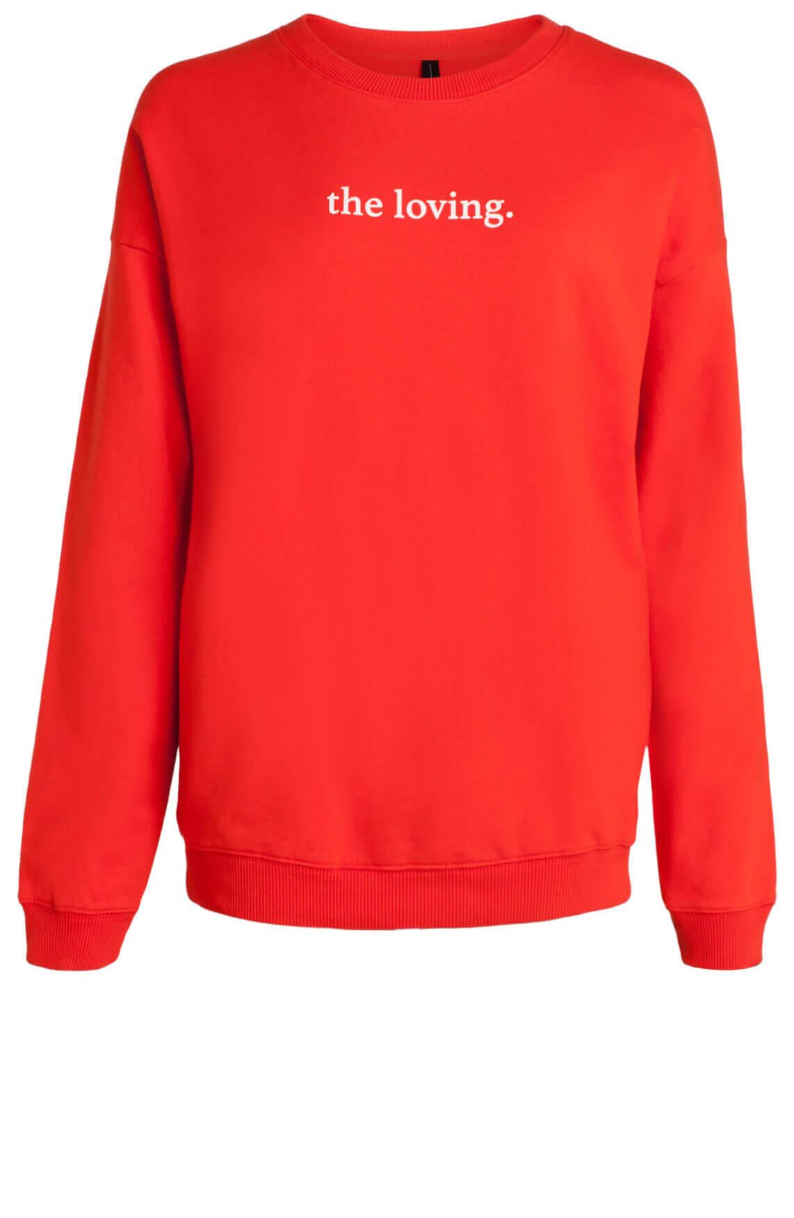 10 Days Dames Oversized sweater Oranje