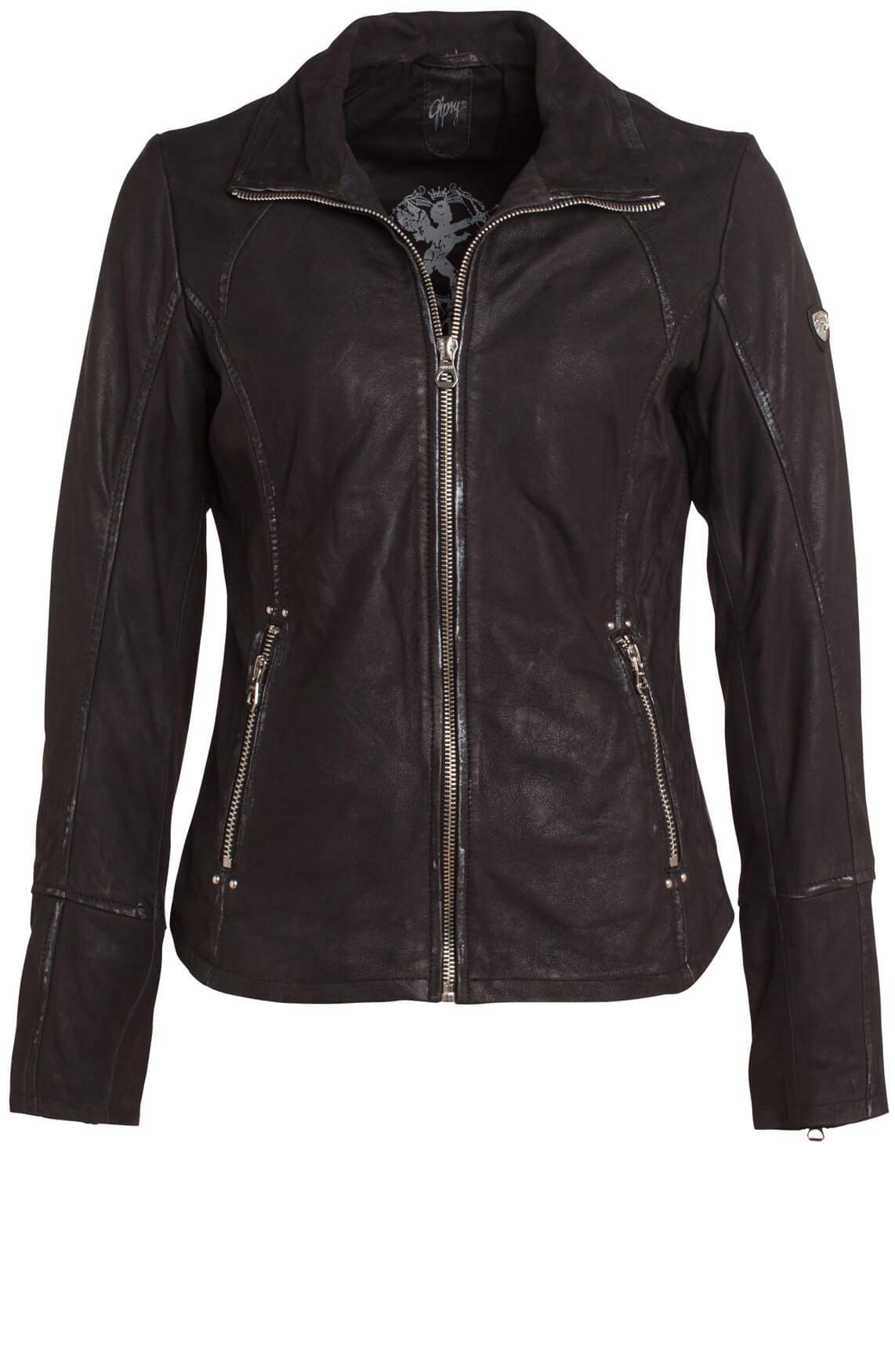 Gipsy Dames Lara bikerjack zwart