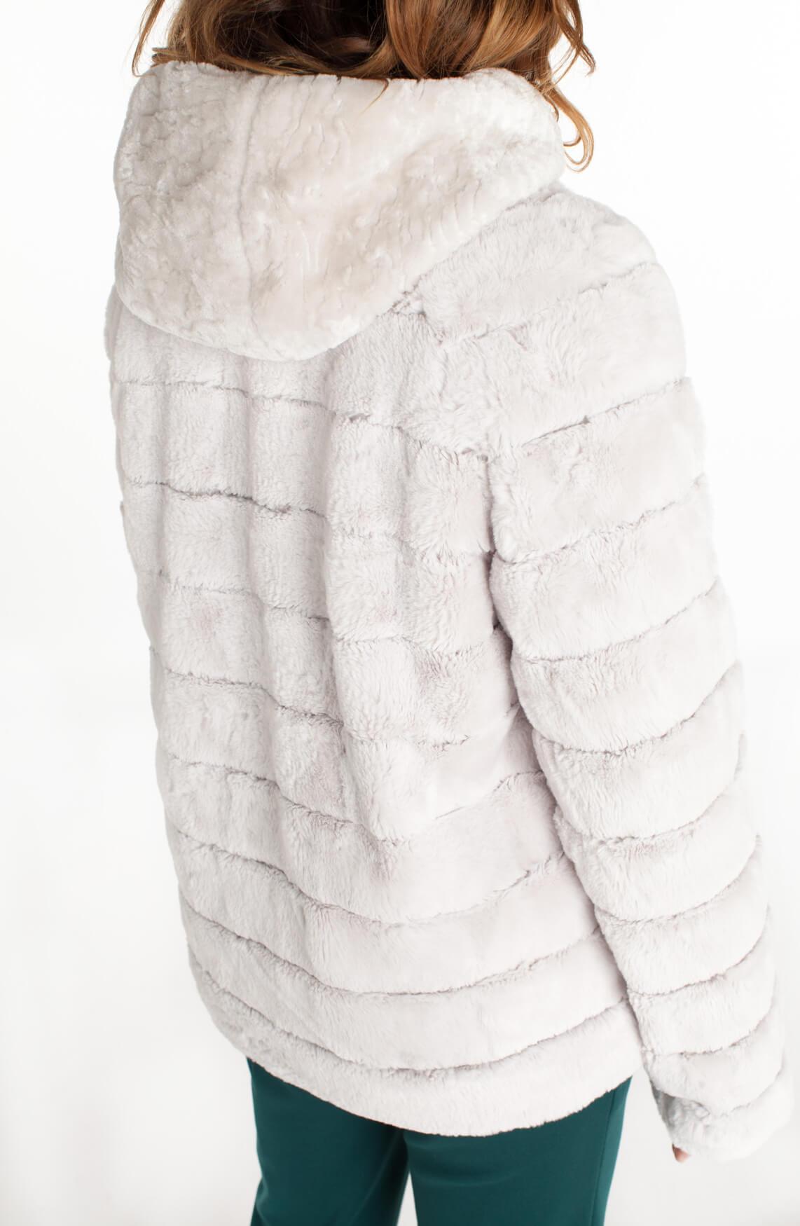 Beaumont Dames Imitatie bontjasje wit