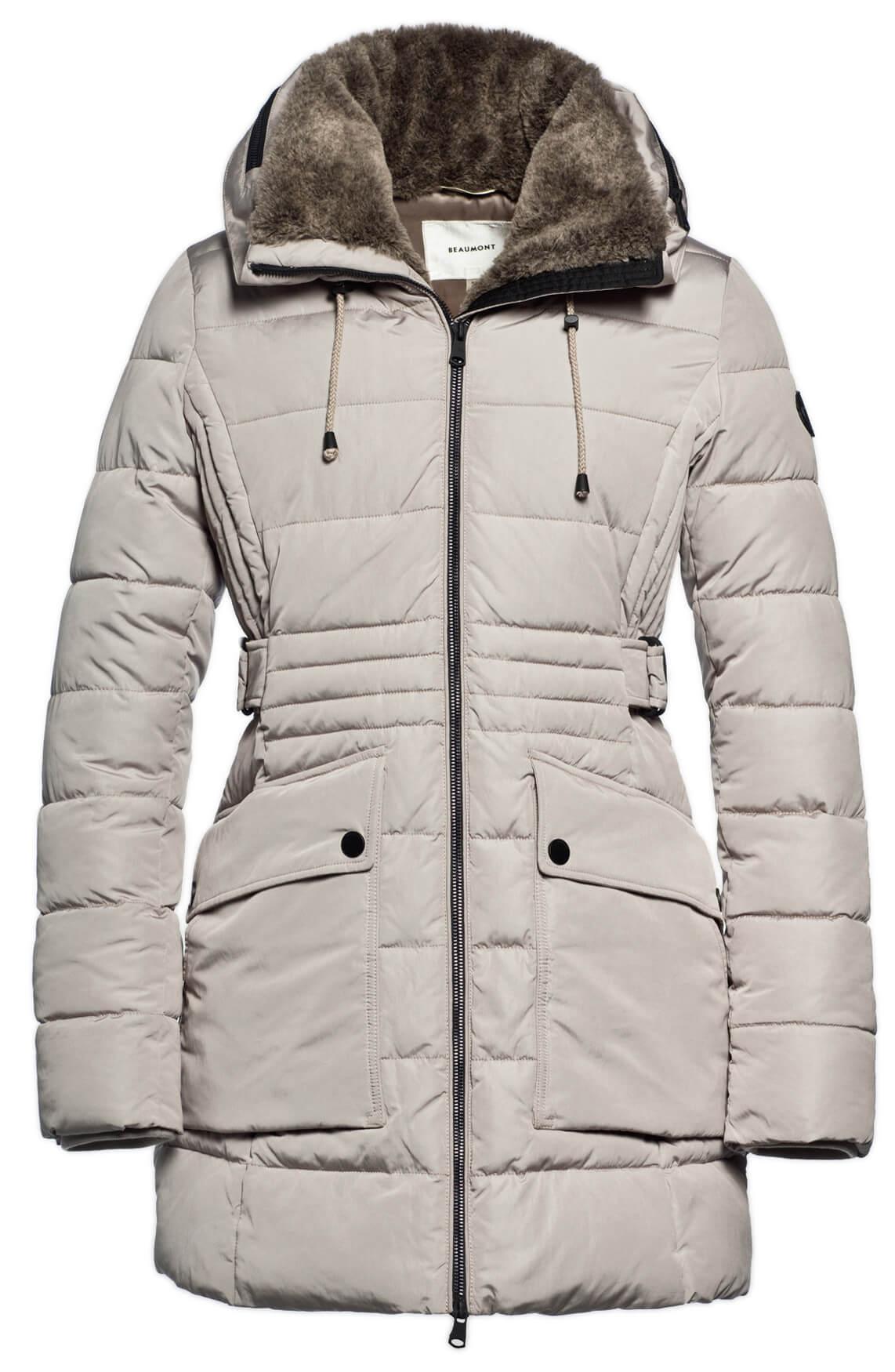 Beaumont Dames Sportieve jas met capuchon Grijs