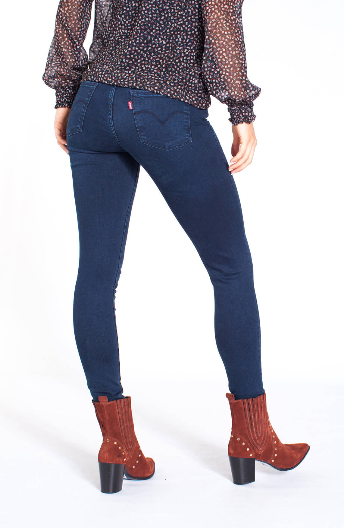 Levi s Dames Shaping skinny jeans Blauw