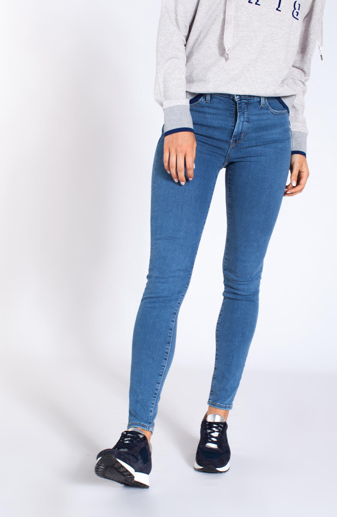 Levi s Dames Shaping super skinny jeans Blauw