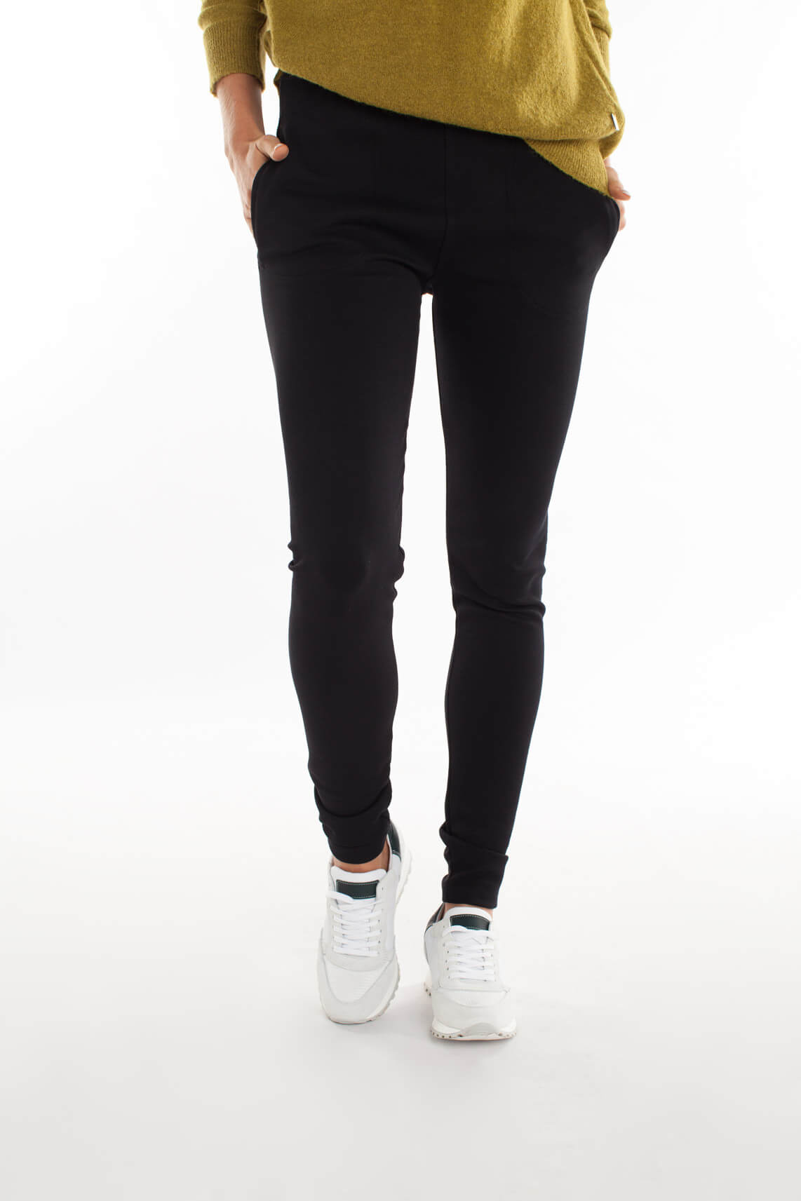 By-Bar Dames Mon comfortabele pantalon zwart