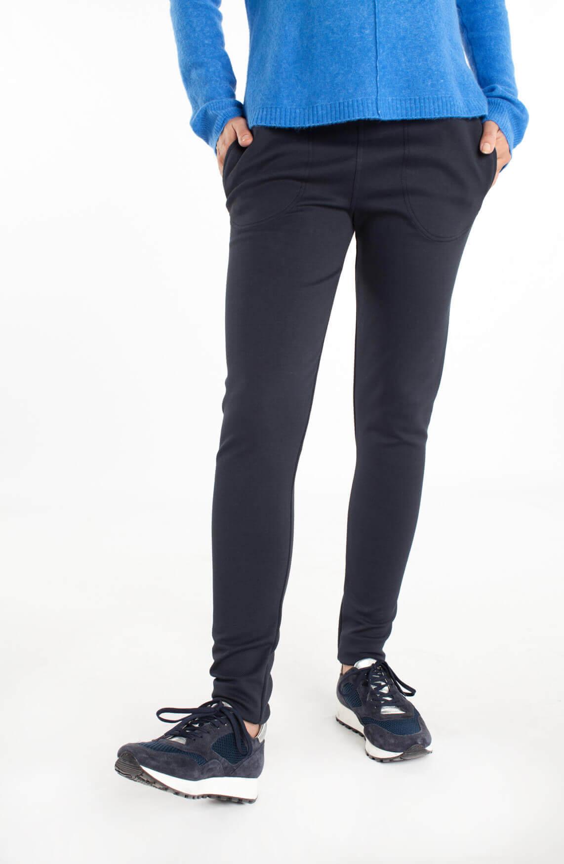 By-Bar Dames Mon comfortabele pantalon Blauw