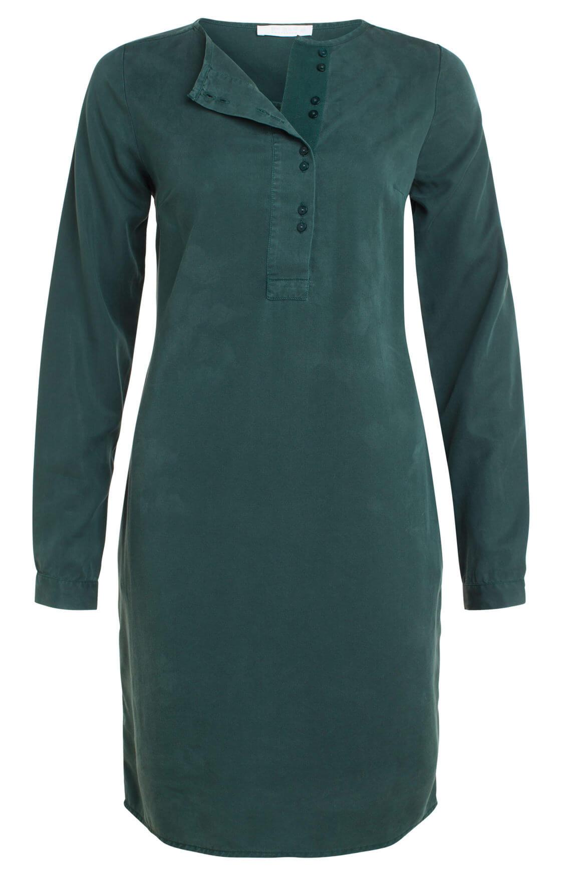 By-Bar Dames Feline jurk groen