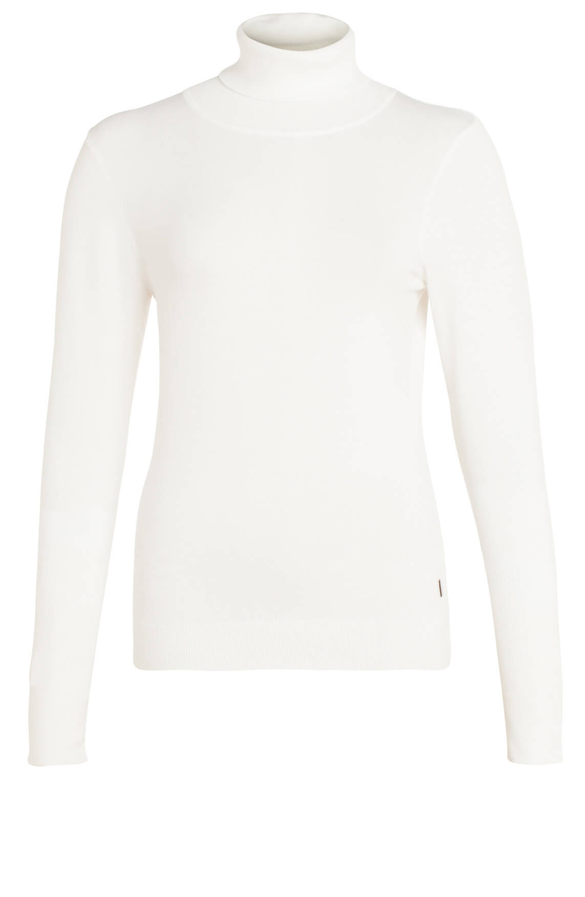 Anna Dames Pullover met col wit