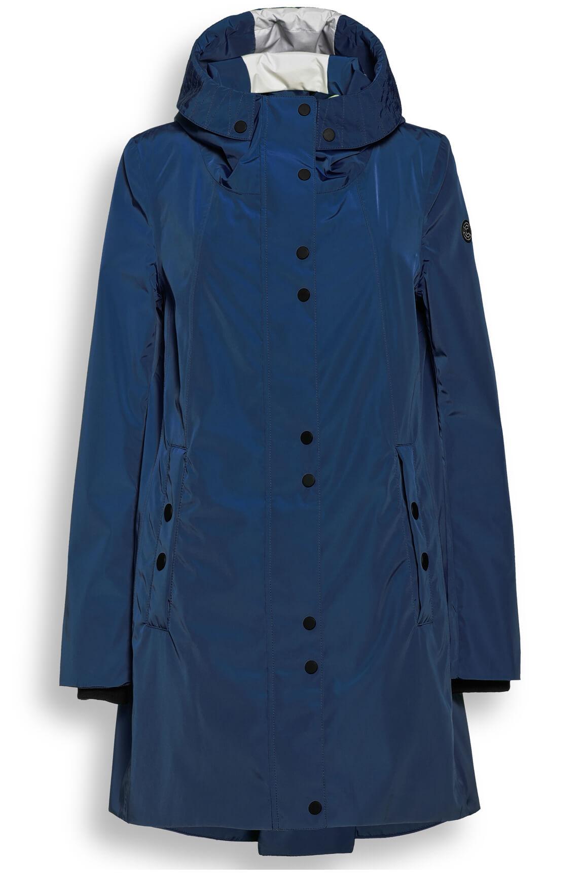 Creenstone Dames Regenjas Blauw
