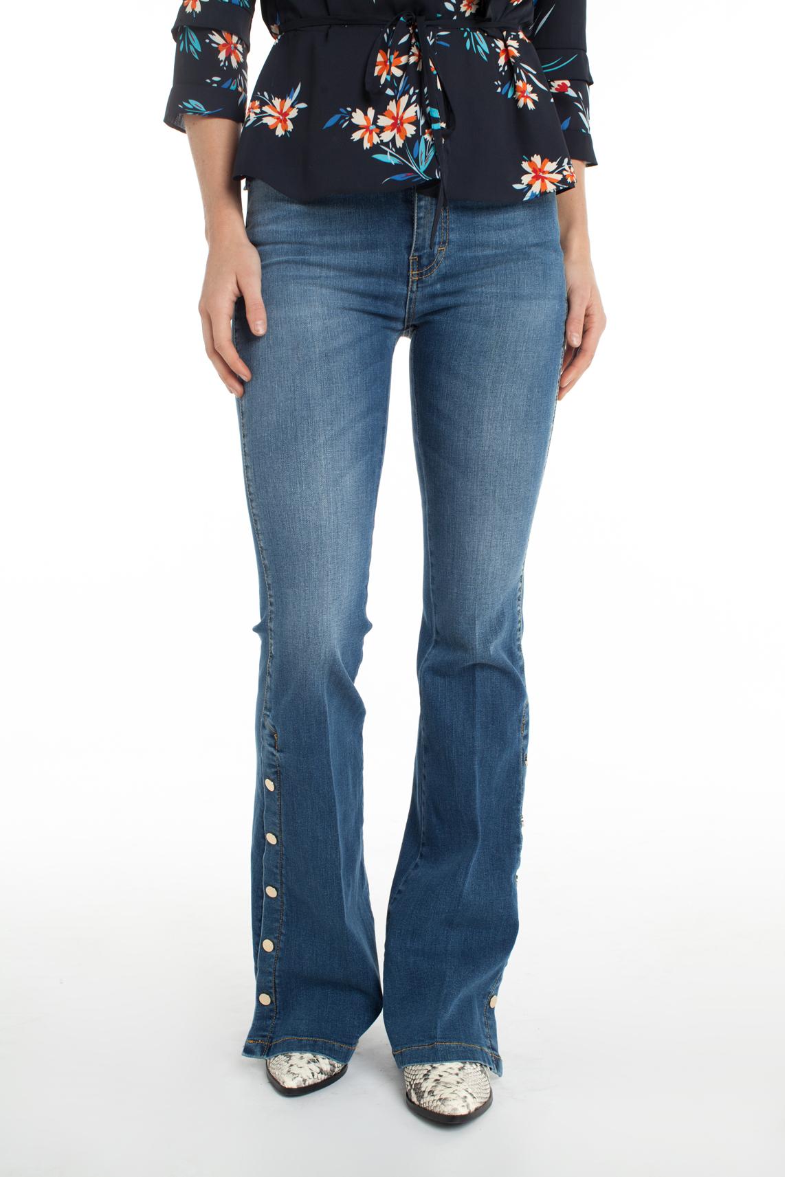 Kocca Dames Royo jeans Blauw