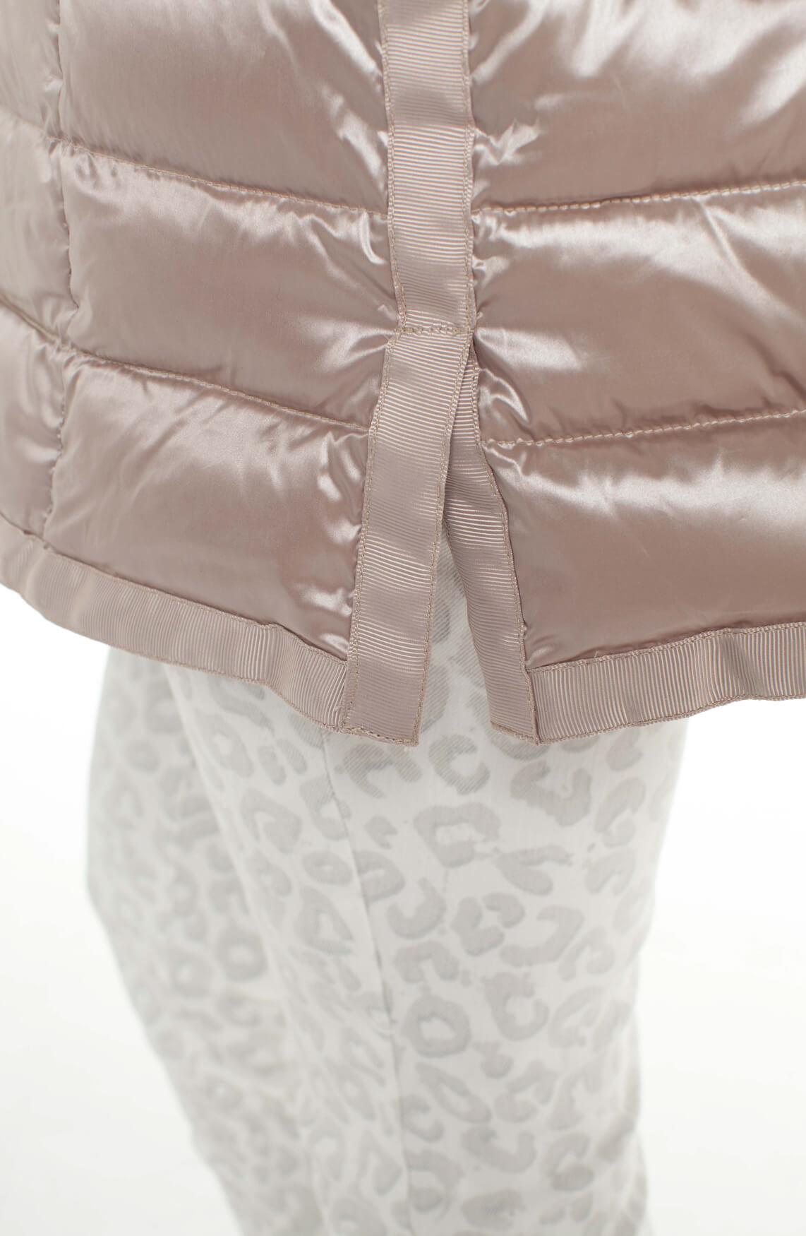 Beaumont Dames Lange donsjas roze