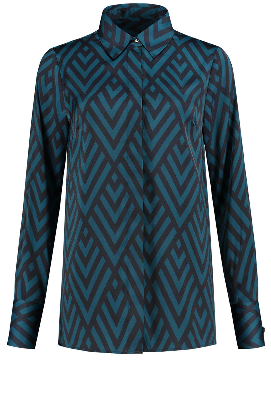 Fifth House Dames Rose blouse Blauw