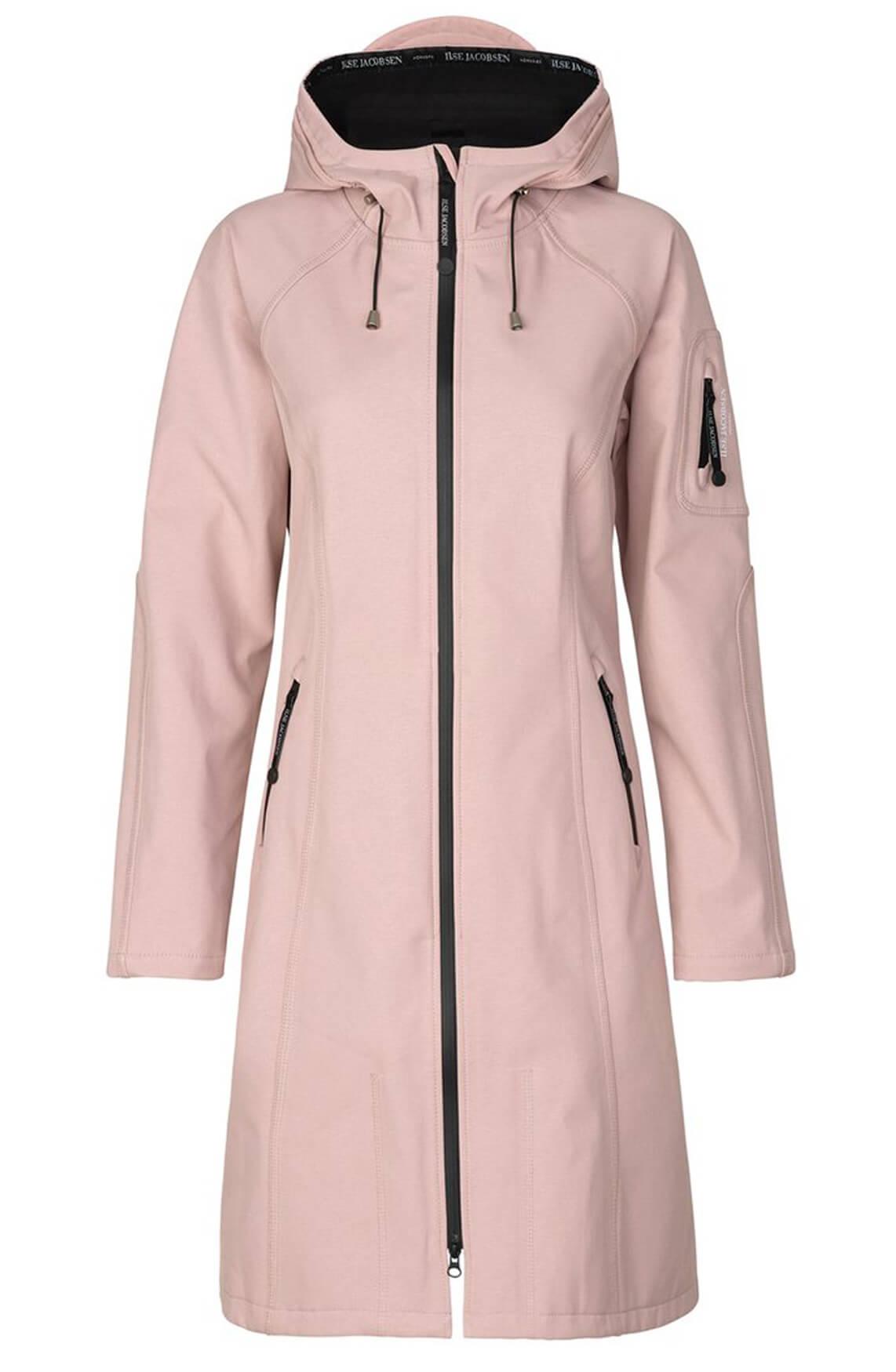 Ilse Jacobsen Dames Softshell regenjas roze